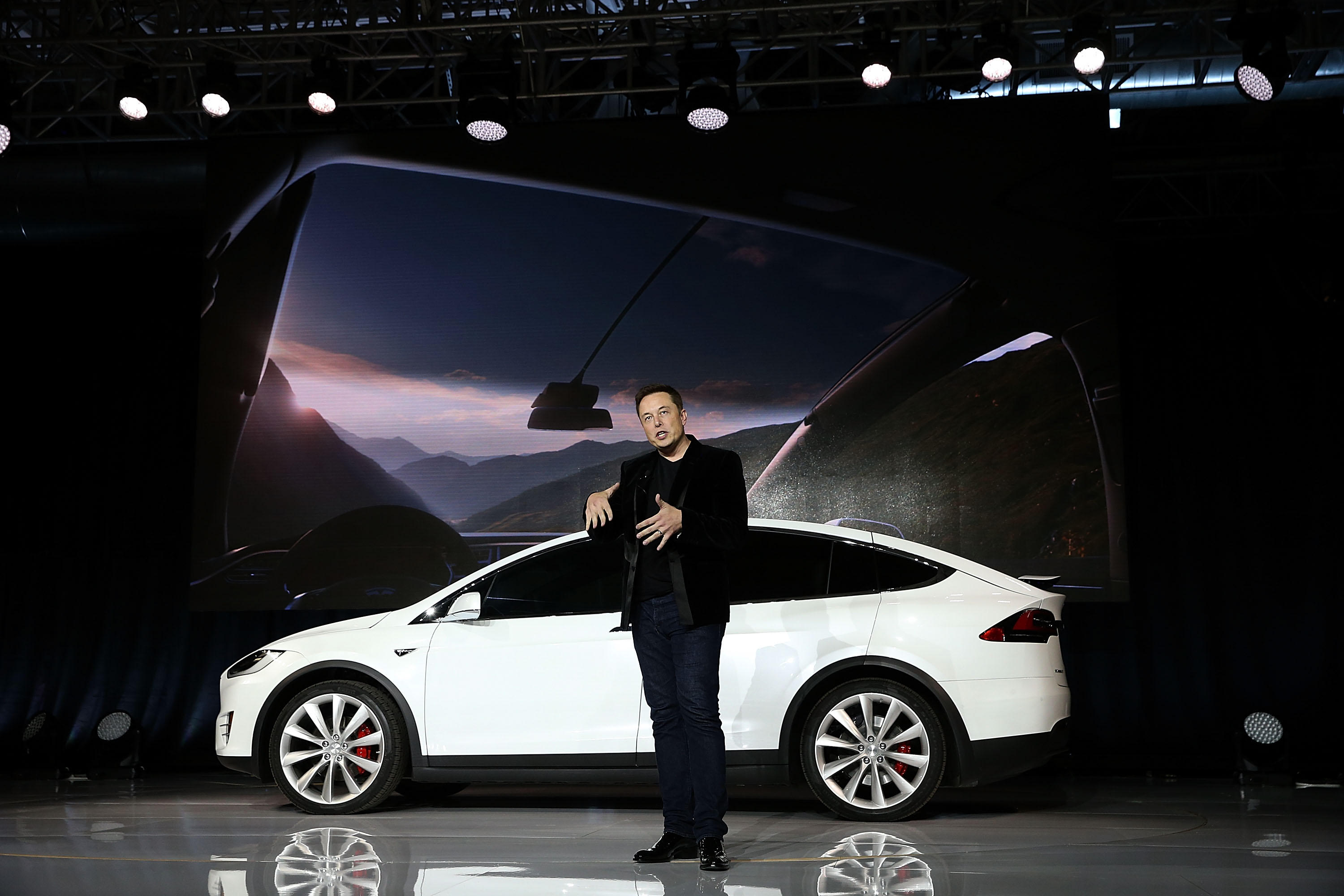Tesla CEO Elon Musk: We're equipping cars to drive