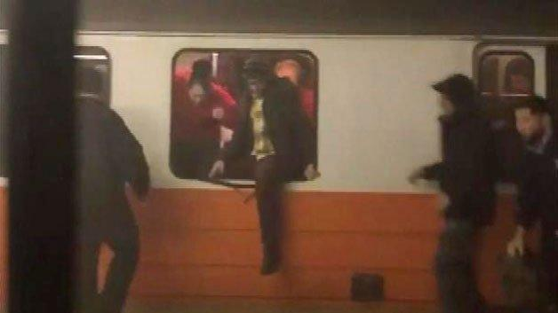 Back Bay Orange Line straphangers flee as smoke fills train, station