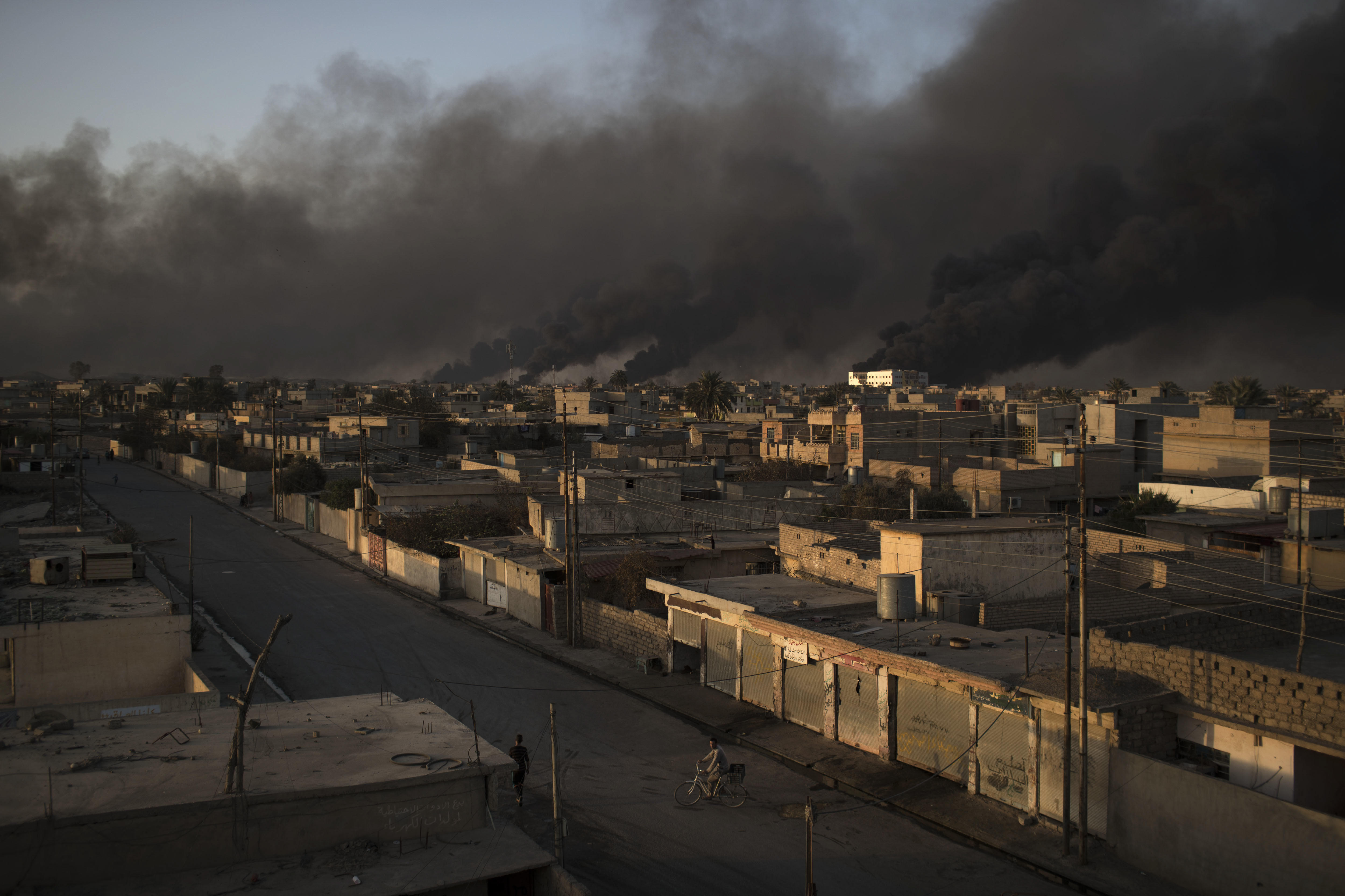 iraq forces mosul offensive vs isis sees iraqi special