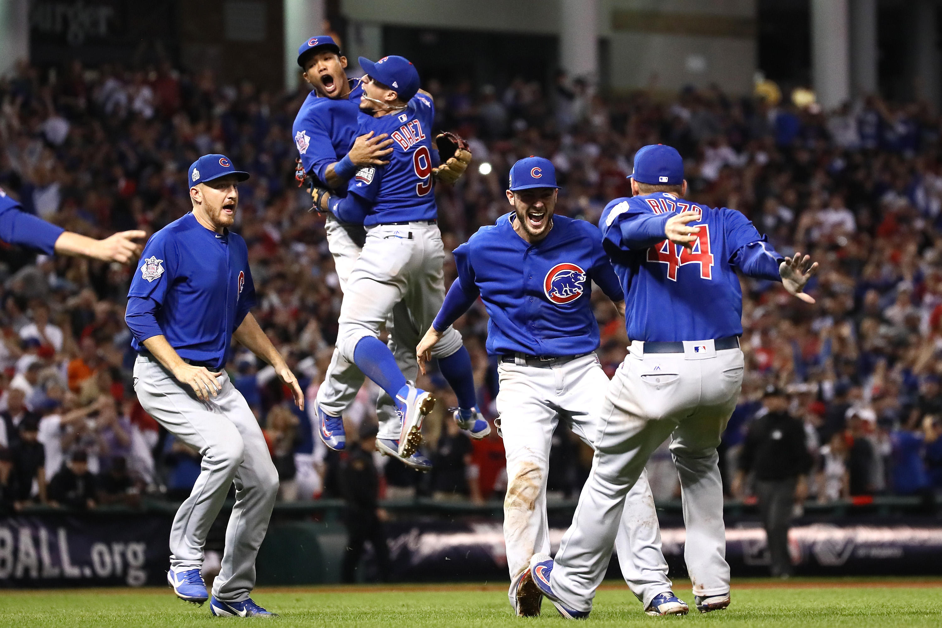 Chicago cubs world series victory is ap s 2016 sports story of the year cbs news