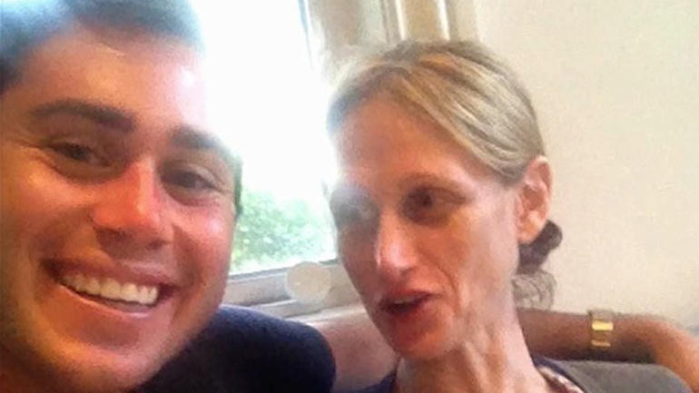 Jake Nolan and Pam Buchbinder
