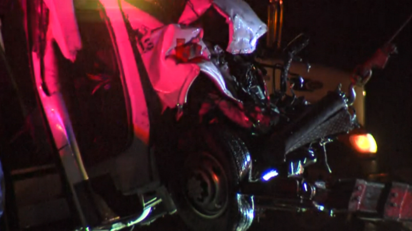 7753d8491f Texas officials: Bus carrying high school cheerleaders crashes - CBS ...