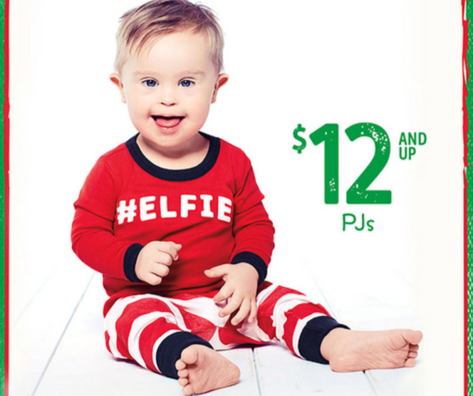 OshKosh B'Gosh holiday ad features toddler with Down