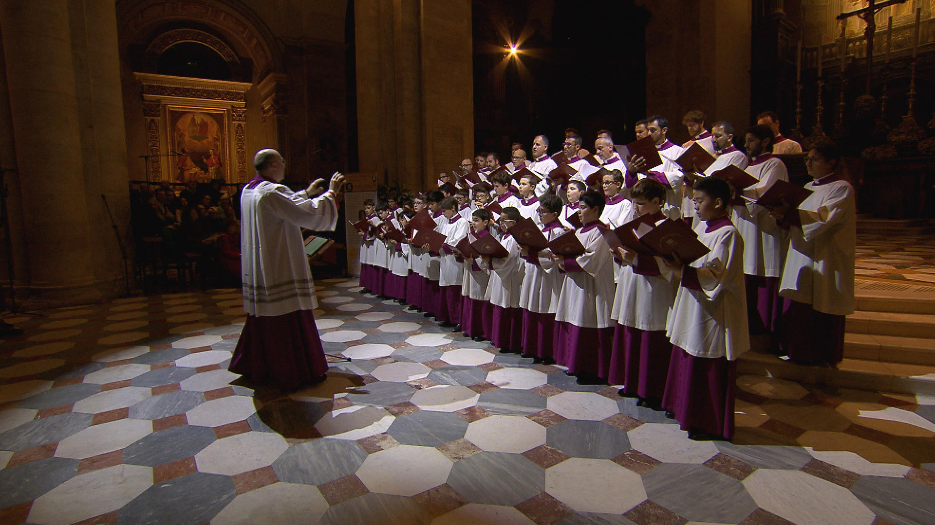 Where Is Charlie Rose Today >> The Pope's Choir - CBS News