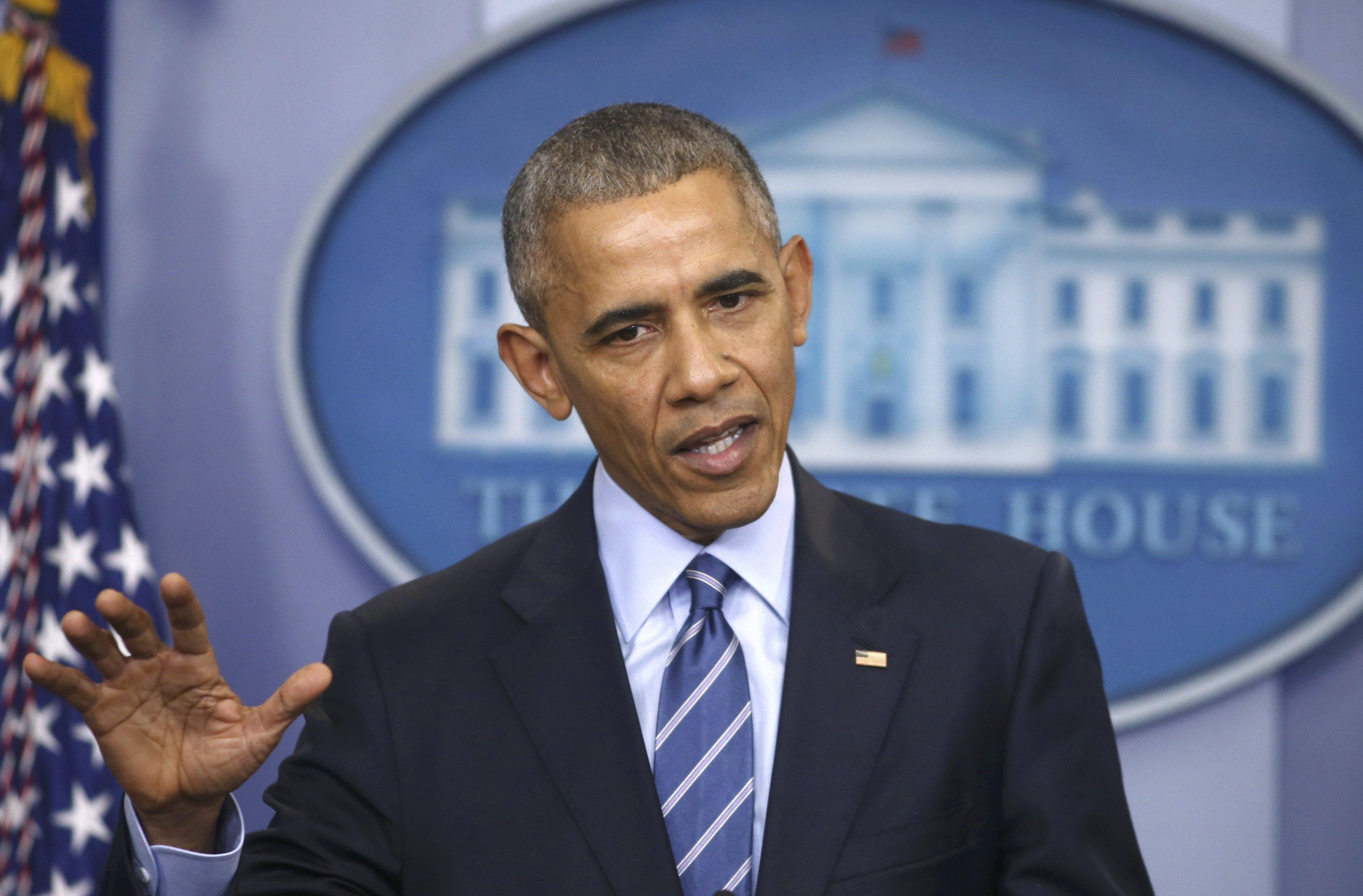 aea9fad5 Obama press conference: The president calls Electoral College a