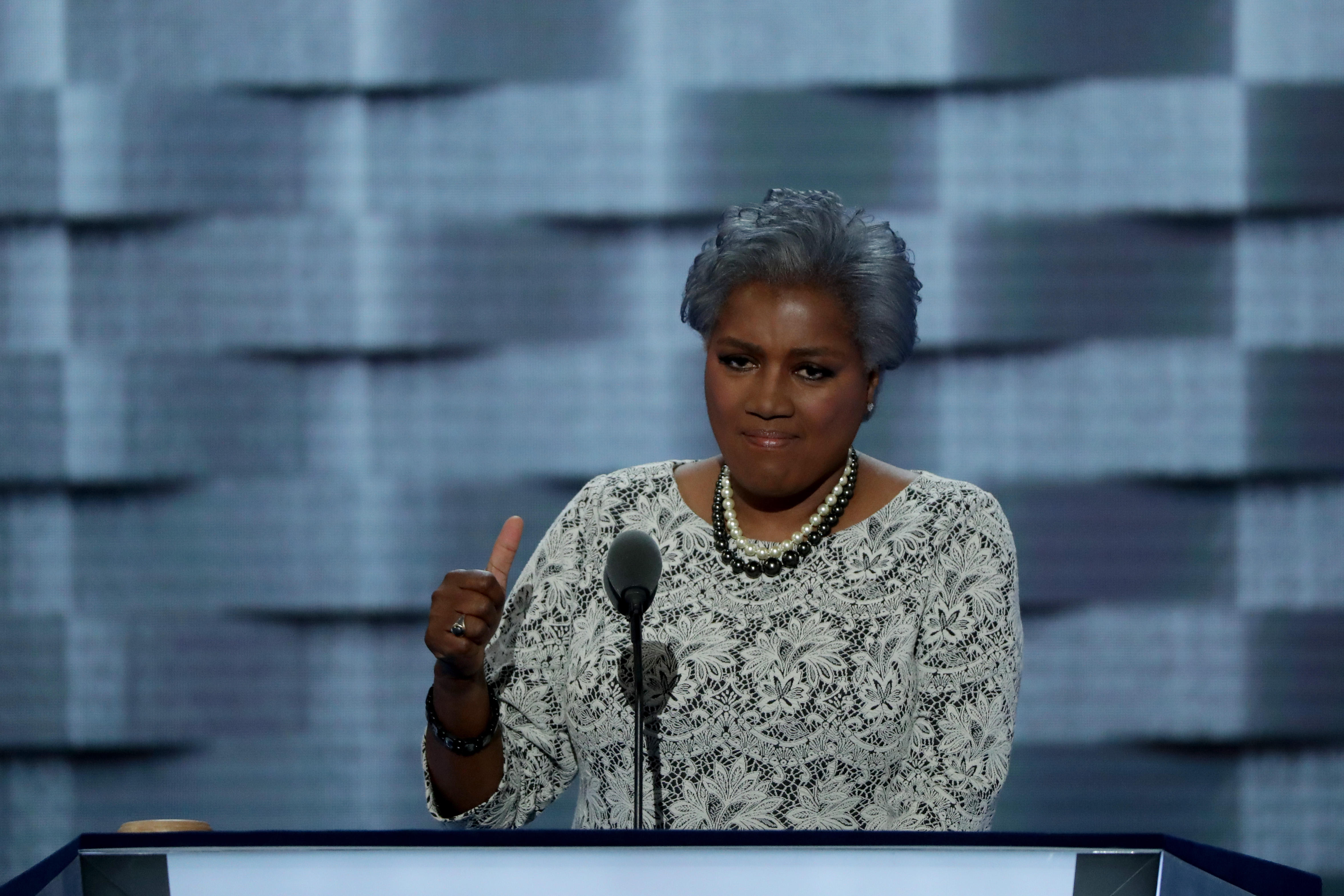 Donna Brazile claims she considered replacing Clinton with Biden