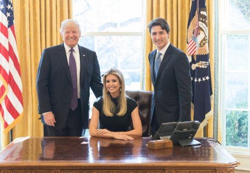 Photo Of Ivanka Trump Sitting In President S Chair Raises