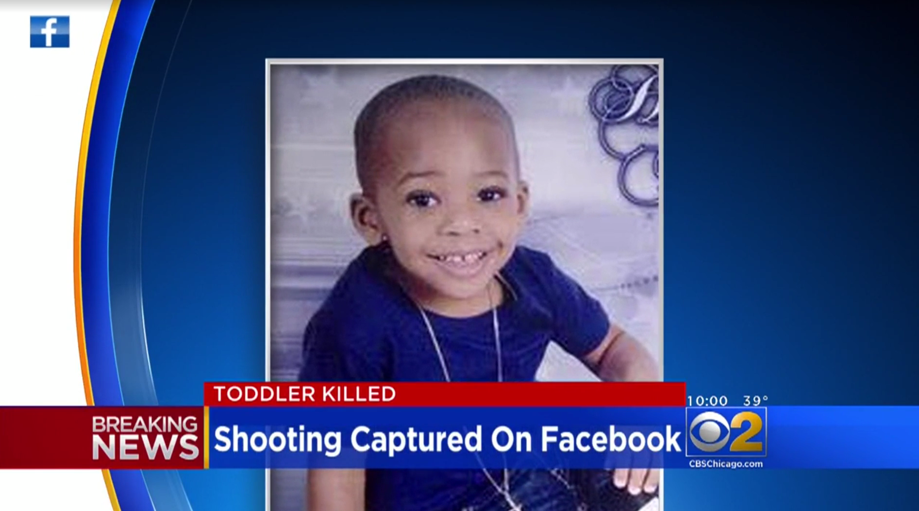 Chicago shooting that killed Lavontay White, 2, caught on Facebook