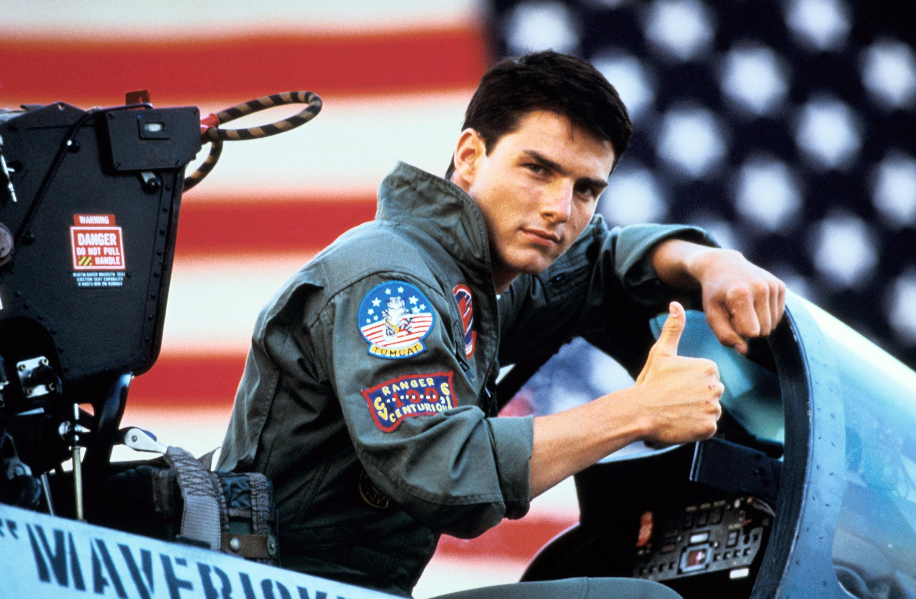"Tom Cruise Shares First Photo From ""Top Gun"" Sequel"
