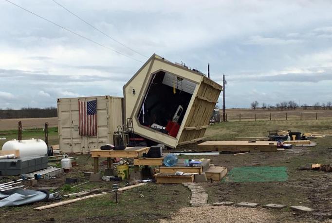Tornadoes Storms Damage Dozens Of Homes In San Antonio