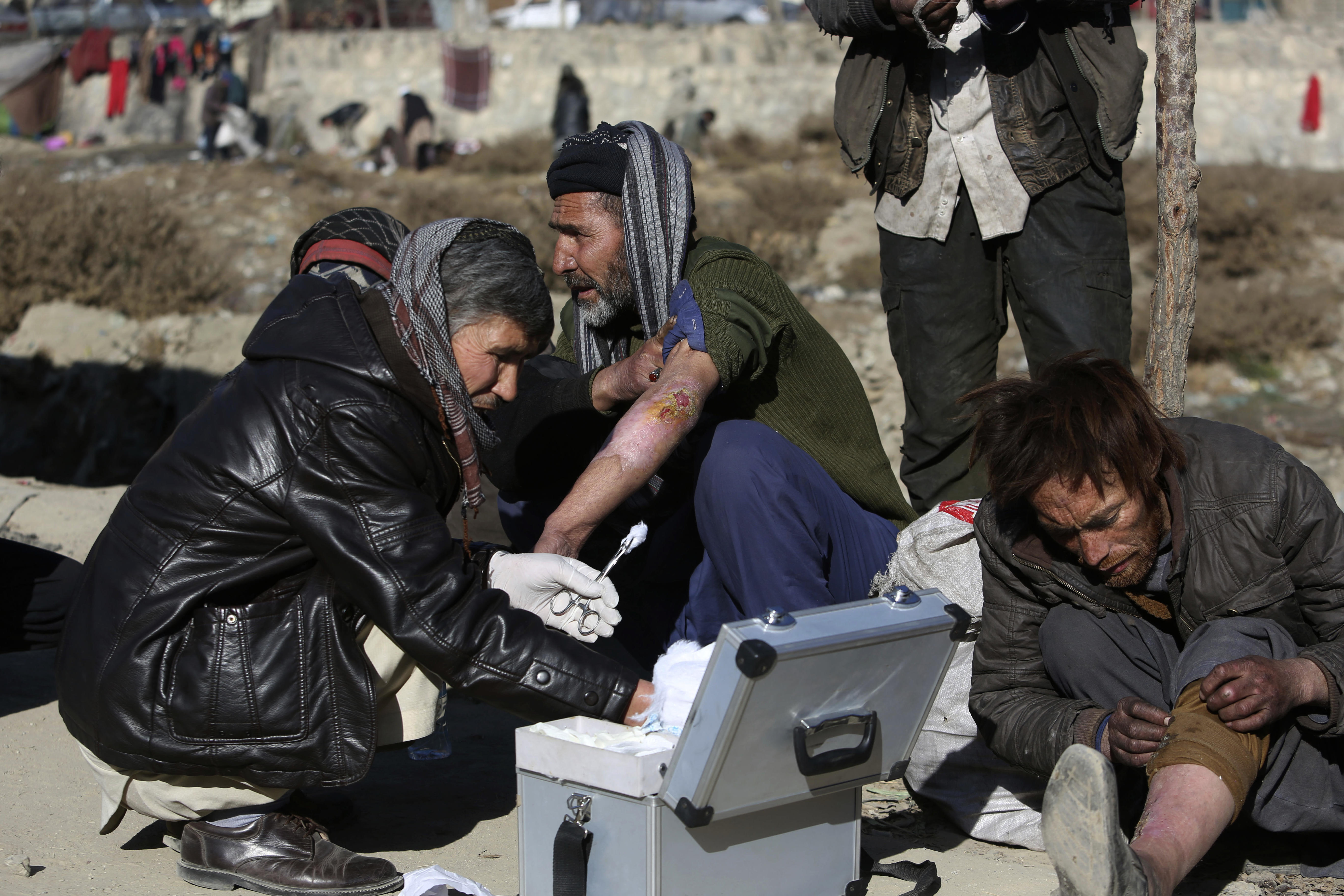 Afghanistan drug addicts volunteer in country with growing