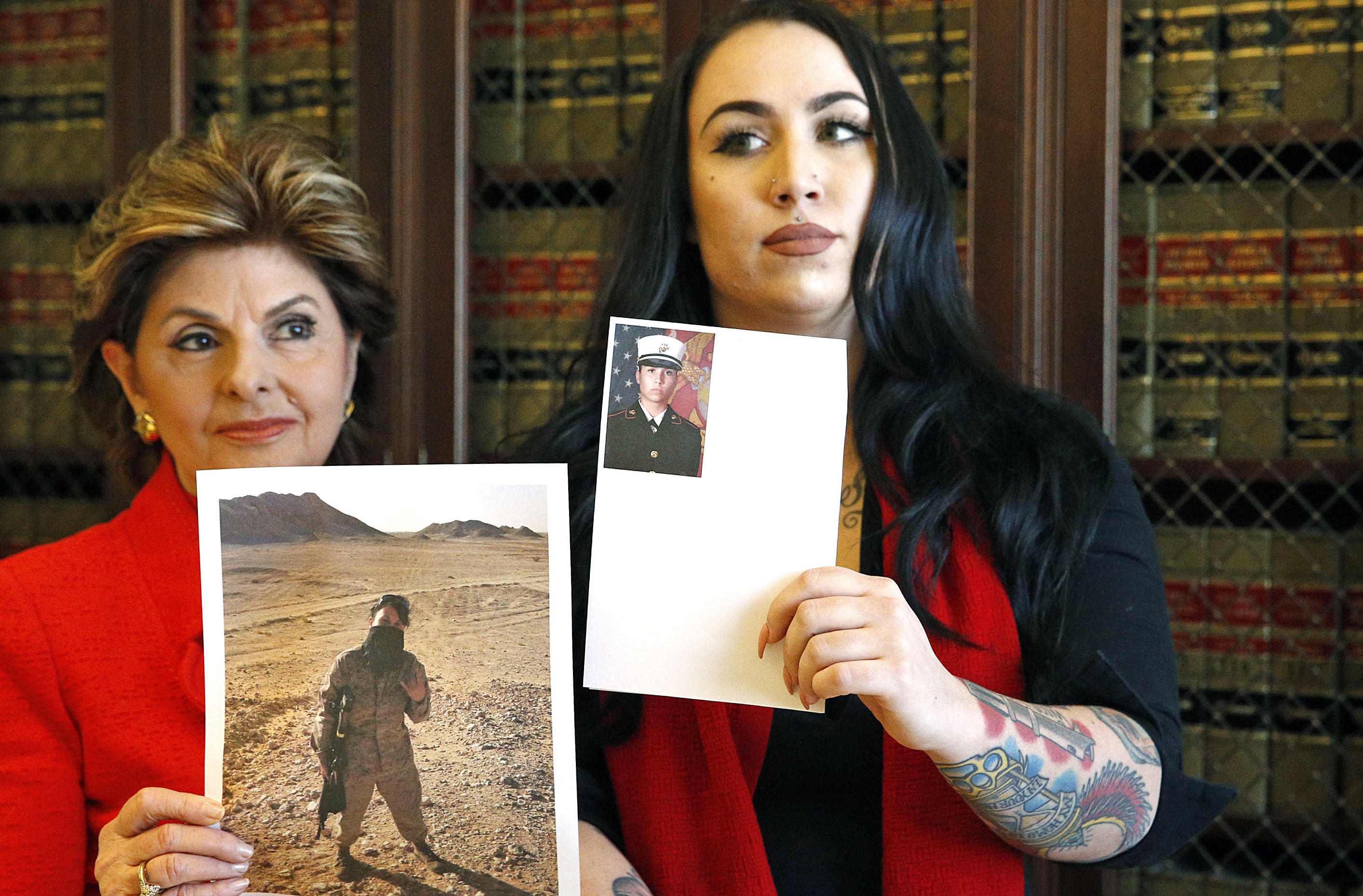 2 Female Marines Say Photos Posted Online Without Their -9530