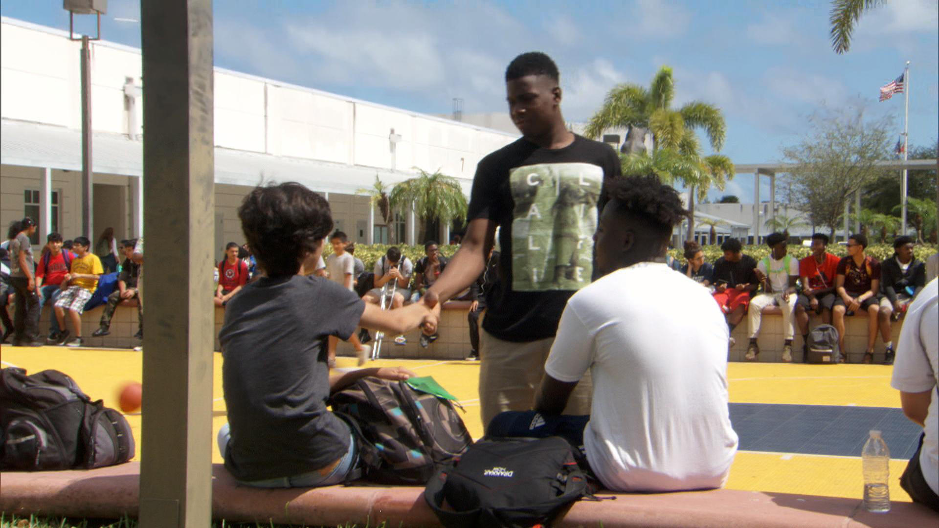 High schooler spreads the message that nobody should have to dine alone
