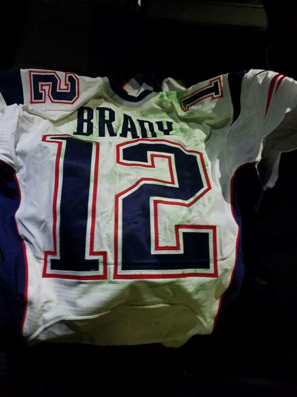 Brady jersey theft suspect spent Super Bowl week taking ...