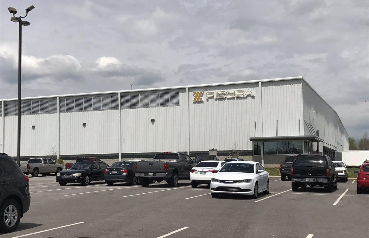 Shooting at automotive plant leaves 1 dead, 2 injured in