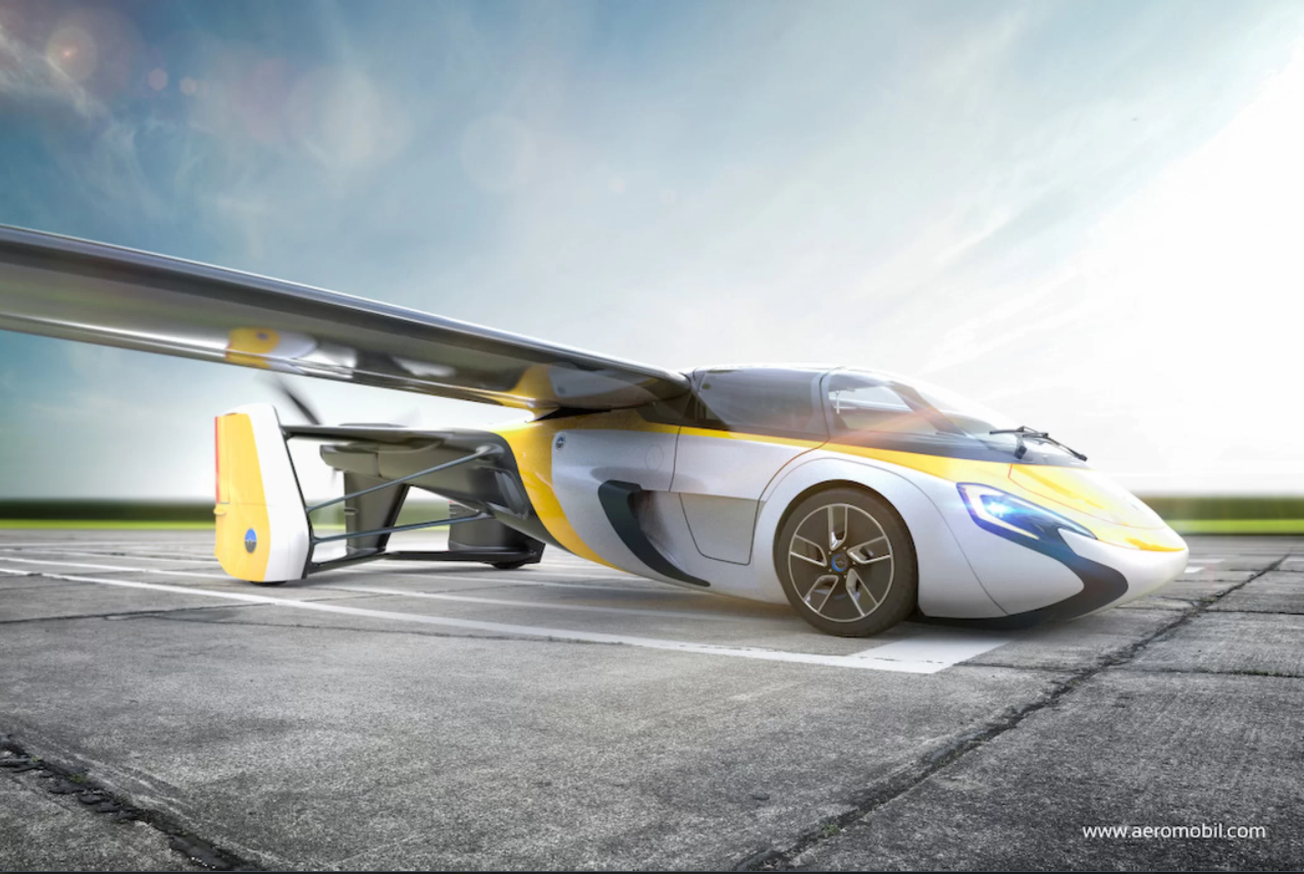 real flying car will be reality soon - cbs news