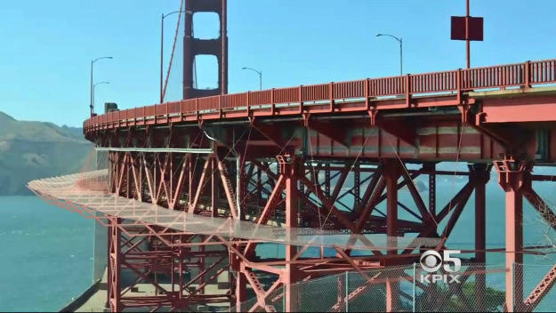 Golden Gate Bridge suicide barriers going up after 1,500 deaths