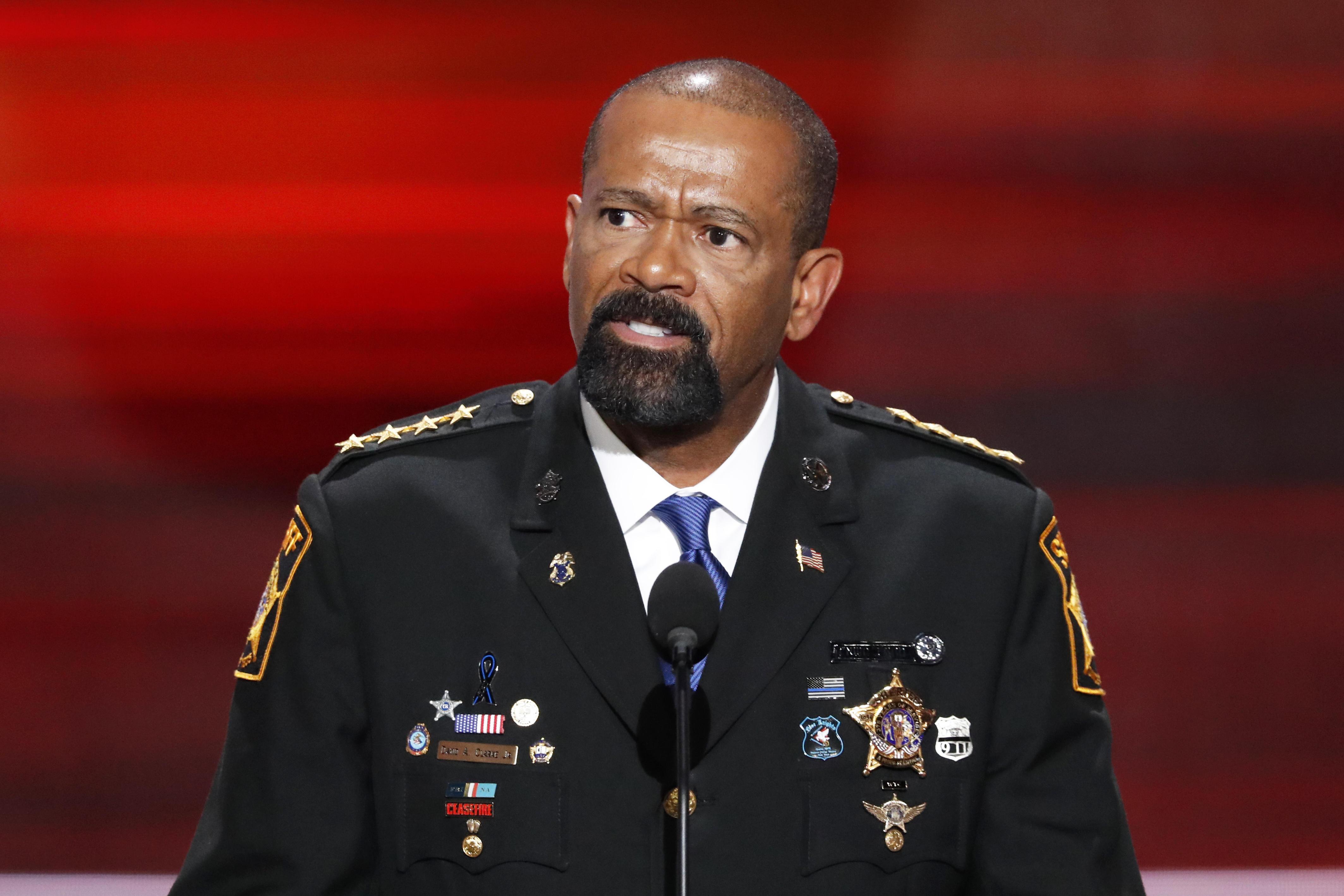 8008927c431 Controversial Milwaukee Sheriff David Clarke takes job with Homeland  Security