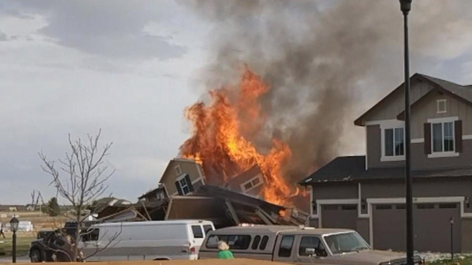Natural Gas In House Fire