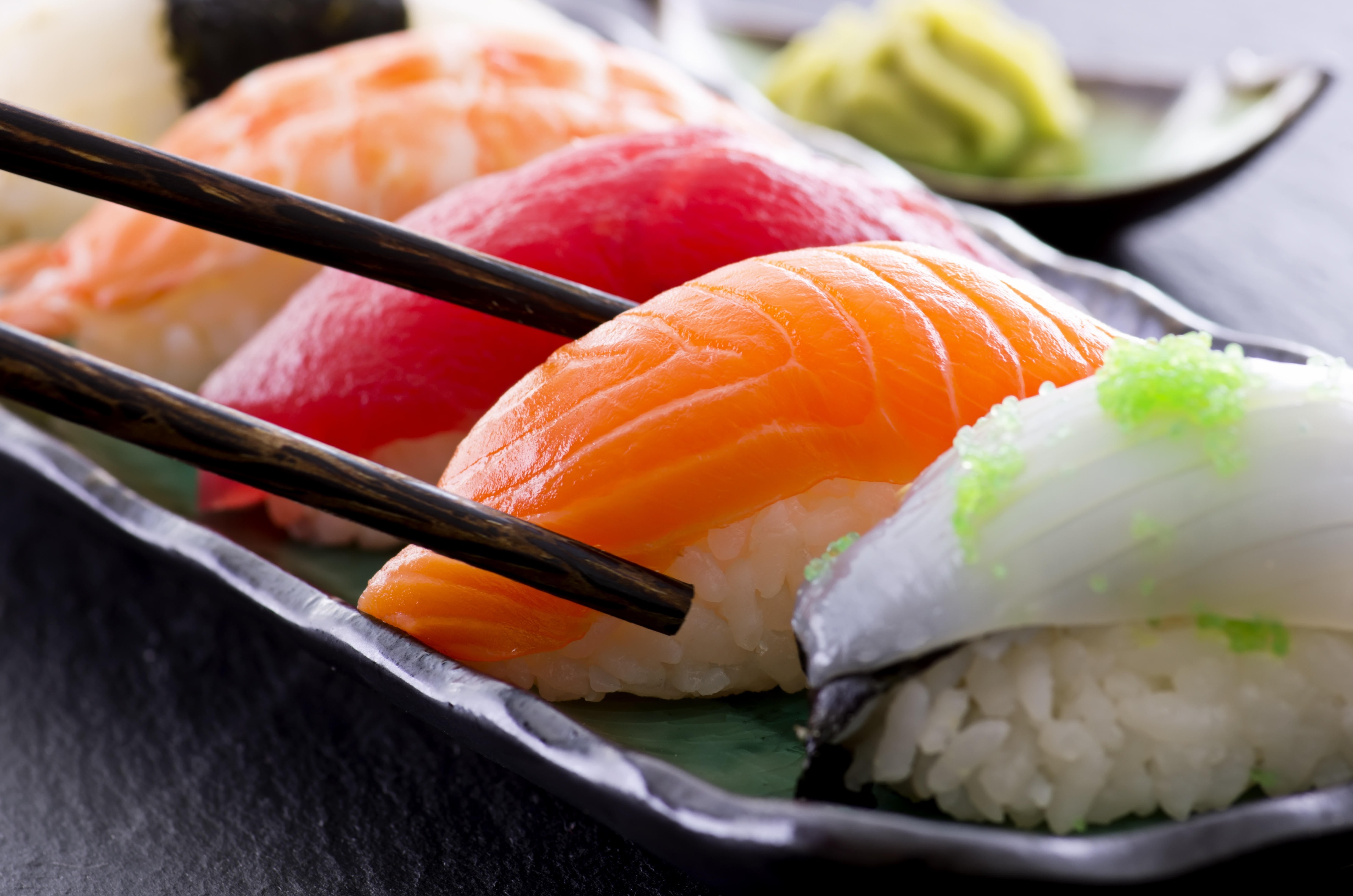 Sushi parasite that embeds in the stomach is on the rise