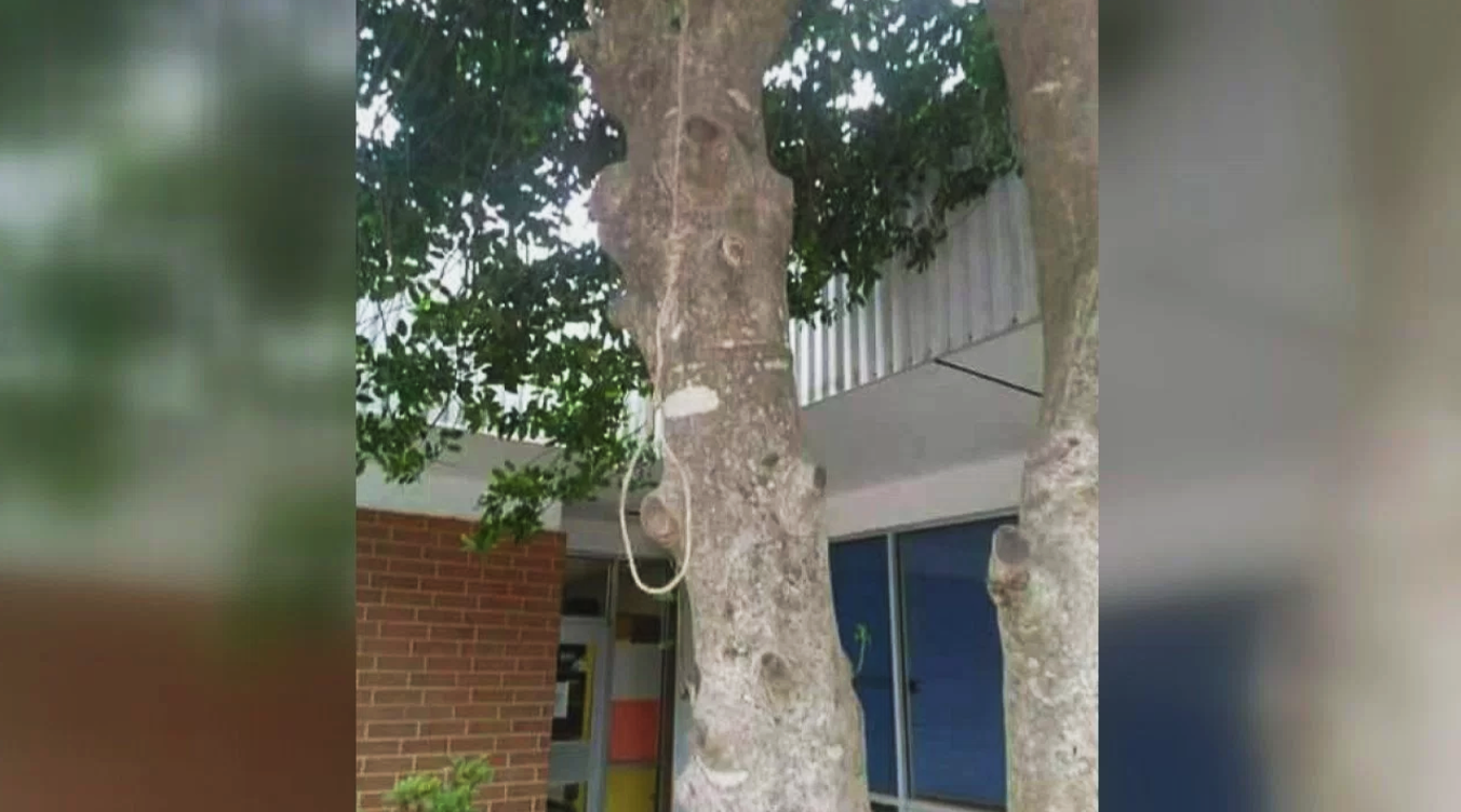 noose found hanging at north carolina high school