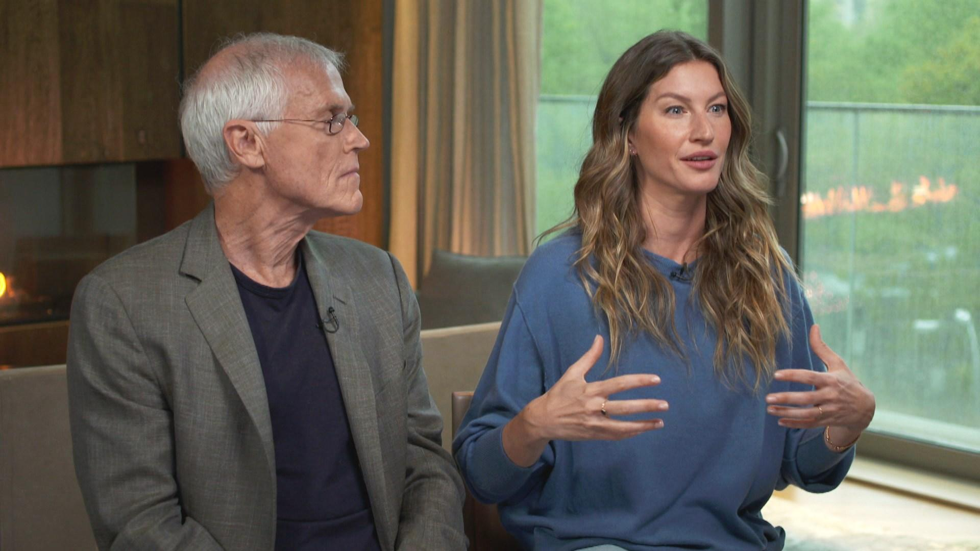 Gisele Bündchen teams up with Paul Hawken to advocate for the