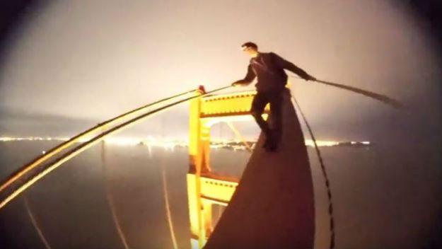 Teens Daredevil Stunt On Golden Gate Bridge Prompts