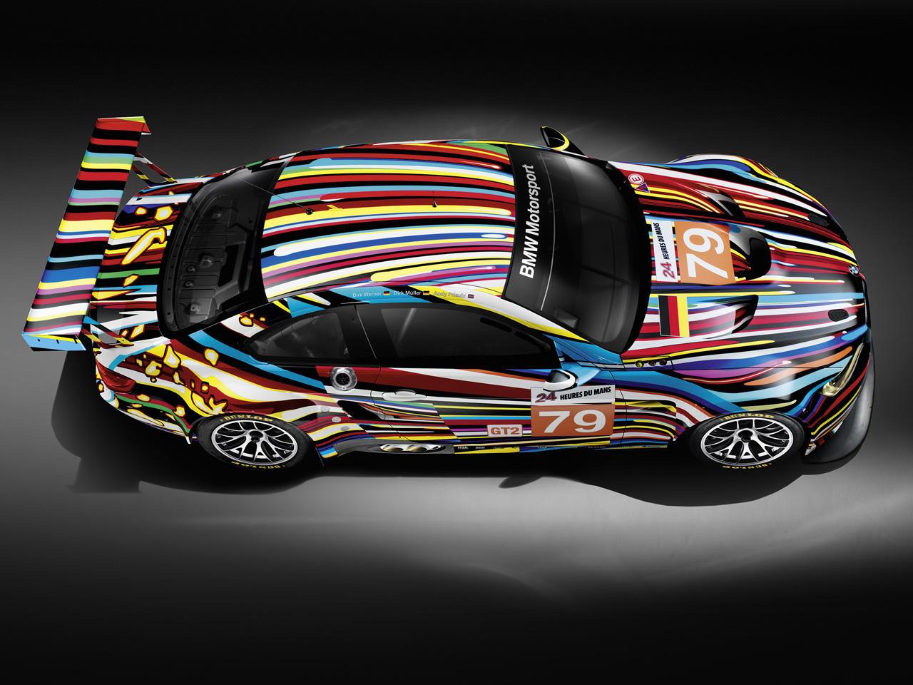 Bmw S Art Cars A Blend Of Art And Speed Cbs News