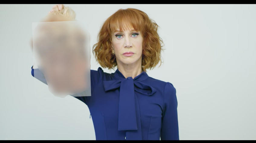 Kathy Griffin says she won't apologize anymore for Trump beheading photo