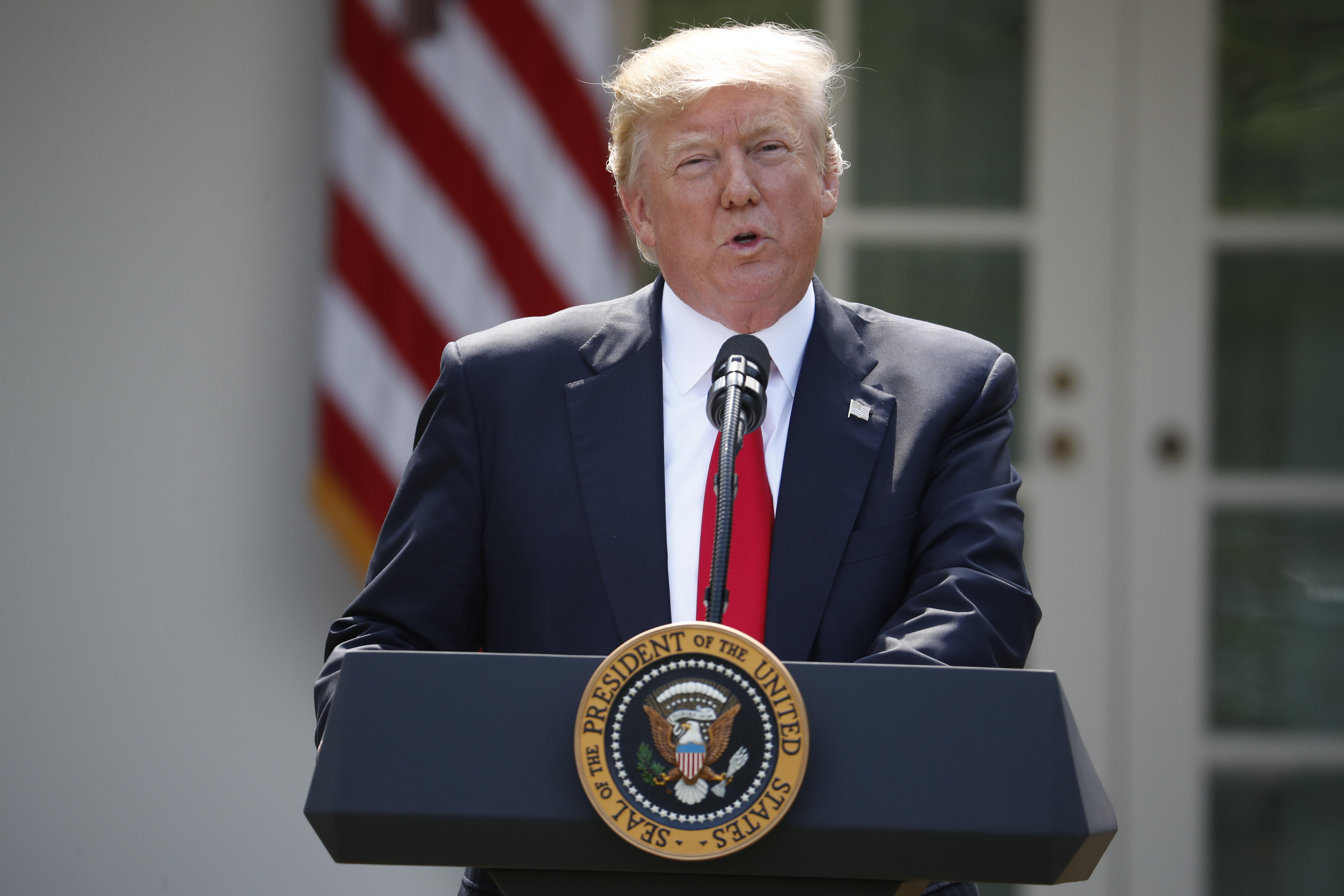 Under Trump, Americans' fears shift to health care, environment, WWIII