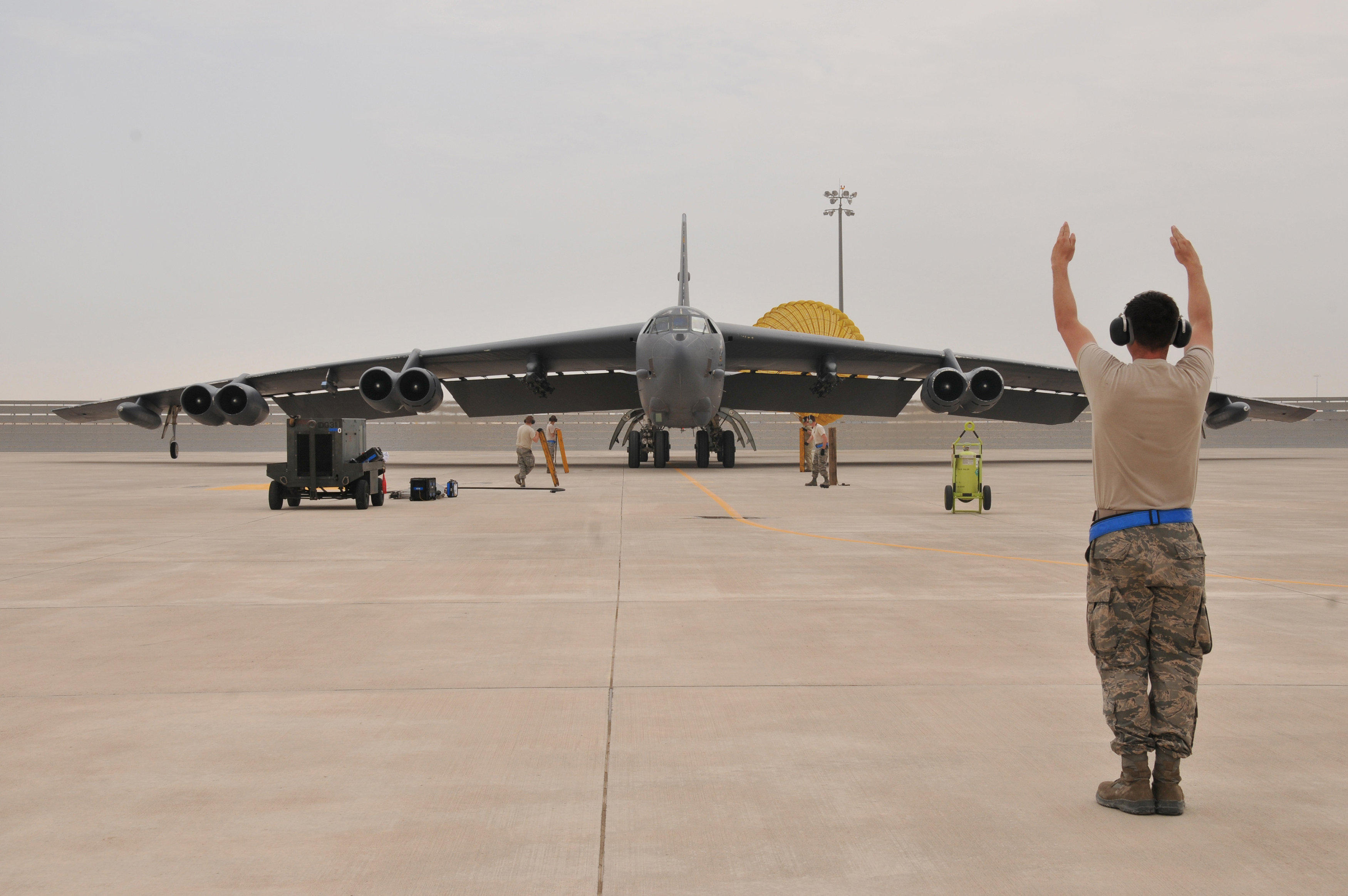 B-52 Stratofortress Bomber Intercepted By Russia On Border
