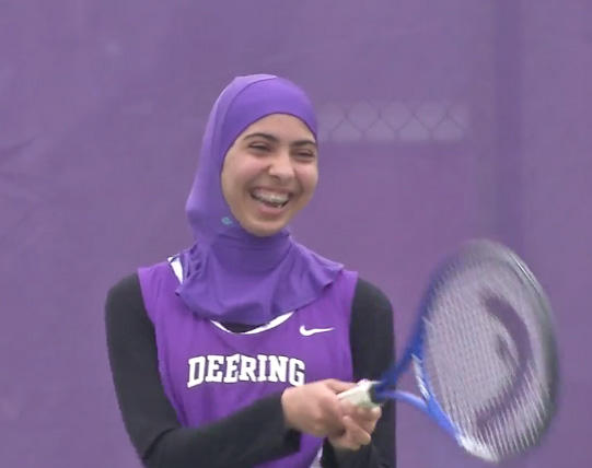 4523cacfd918e Maine high school is apparently first in U.S. to get sports hijabs ...