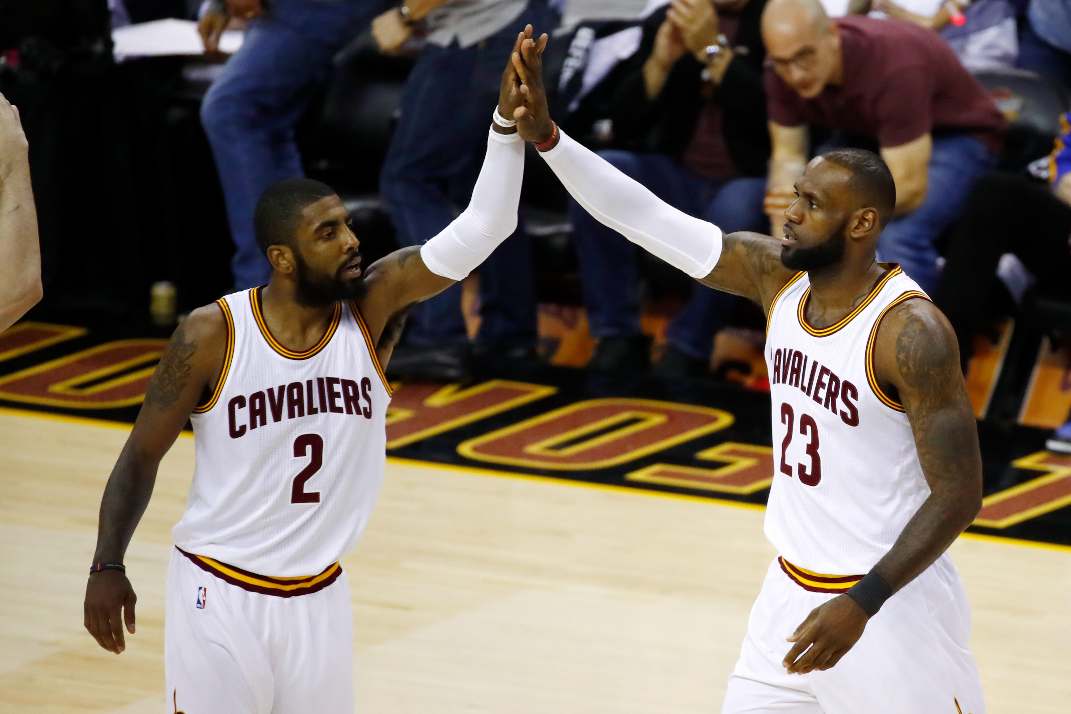 e6c1aee907e Kyrie Irving goes to Celtics after Cavaliers make blockbuster trade ...