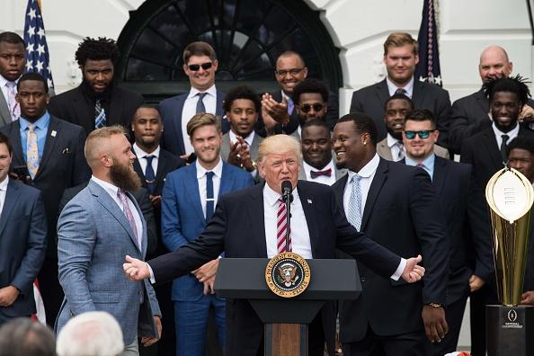 Image result for Clemson white house visit