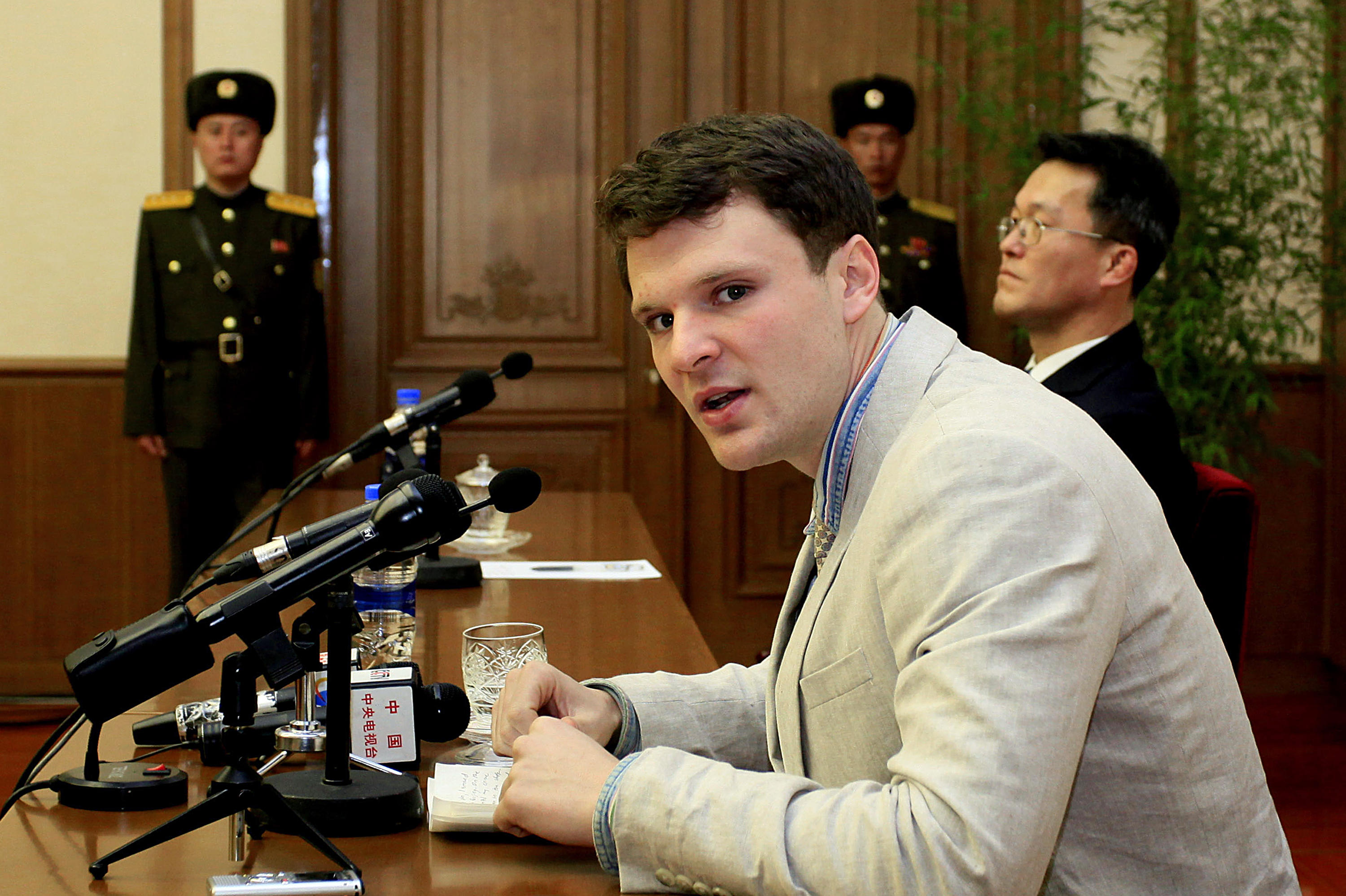 Otto Warmbiers Release From North Korea A Timeline