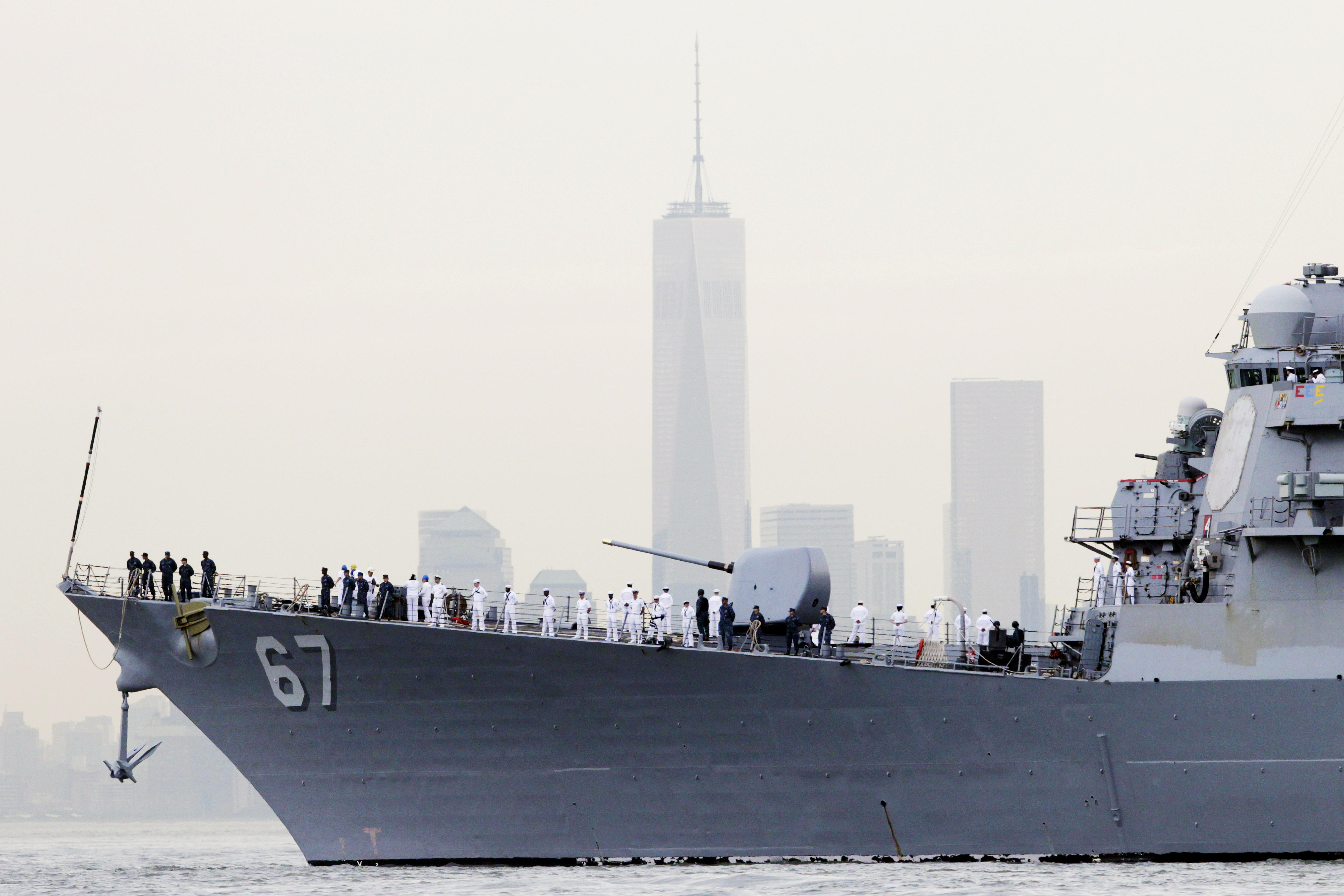Iran Warship In Strait Of Hormuz In Quot Unsafe And