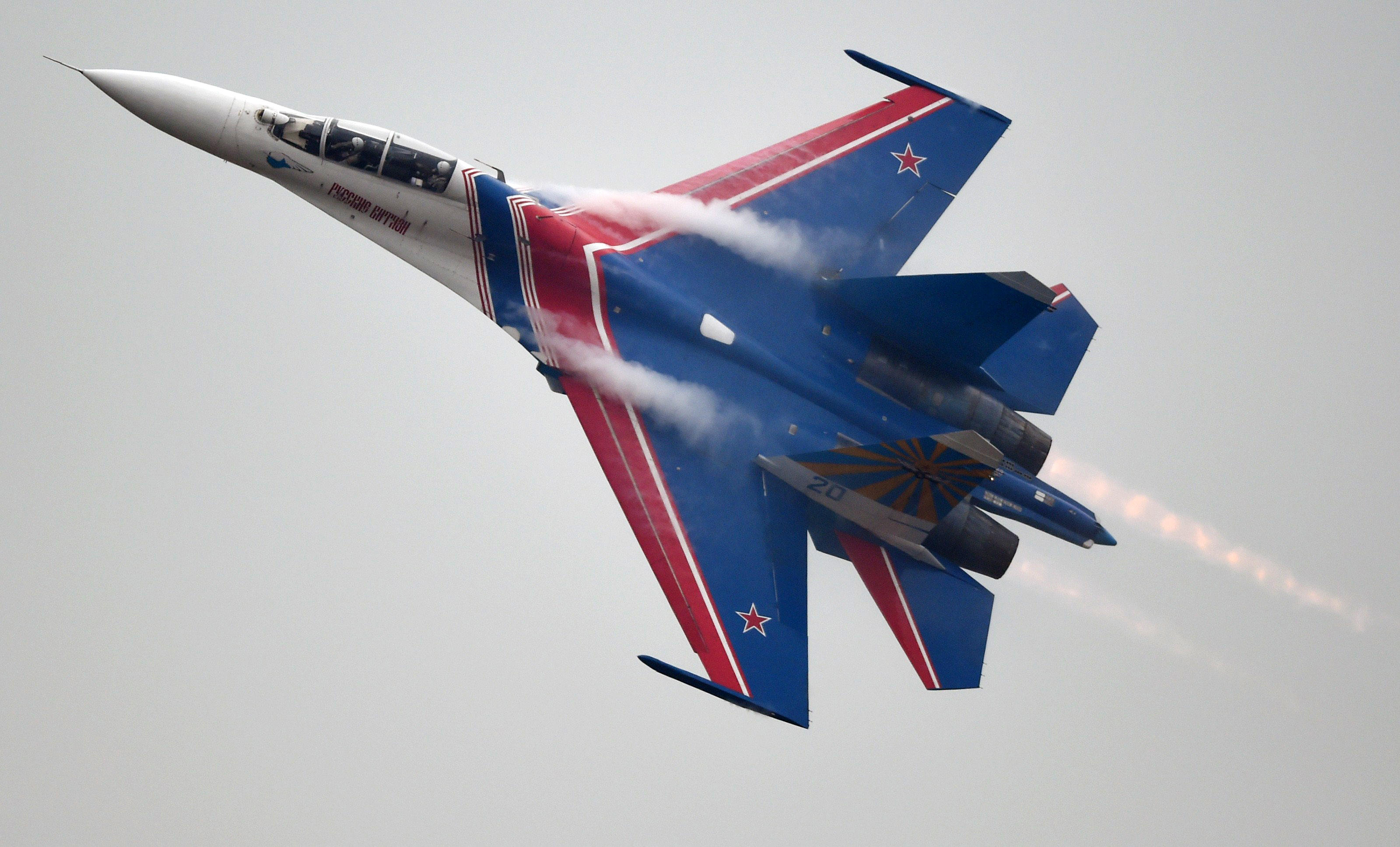 Armed Russia Jet Comes Within 5 Feet Of U.S. Military