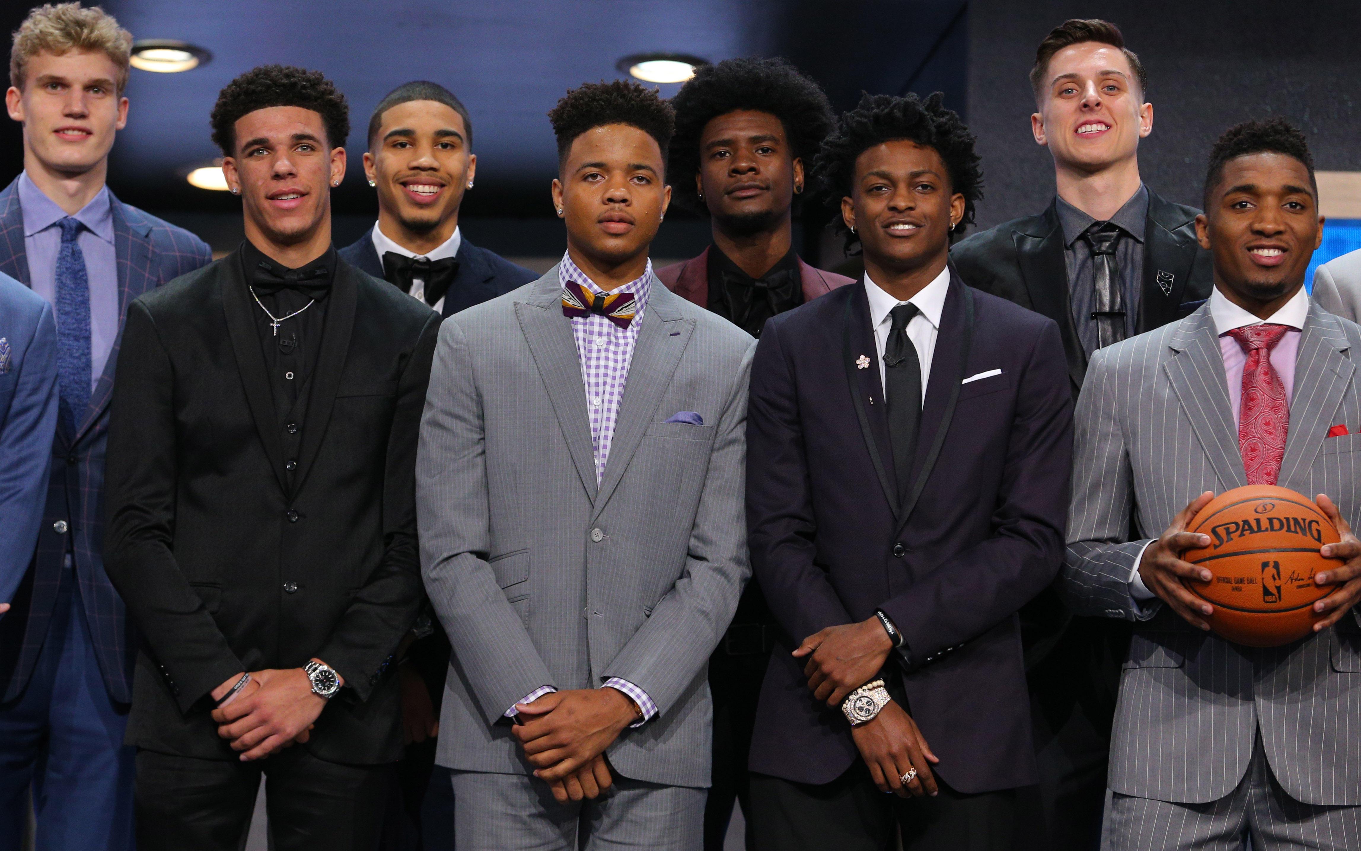 a65ead9ed8b Philadelphia 76ers choose Markelle Fultz with top pick in NBA draft 2017