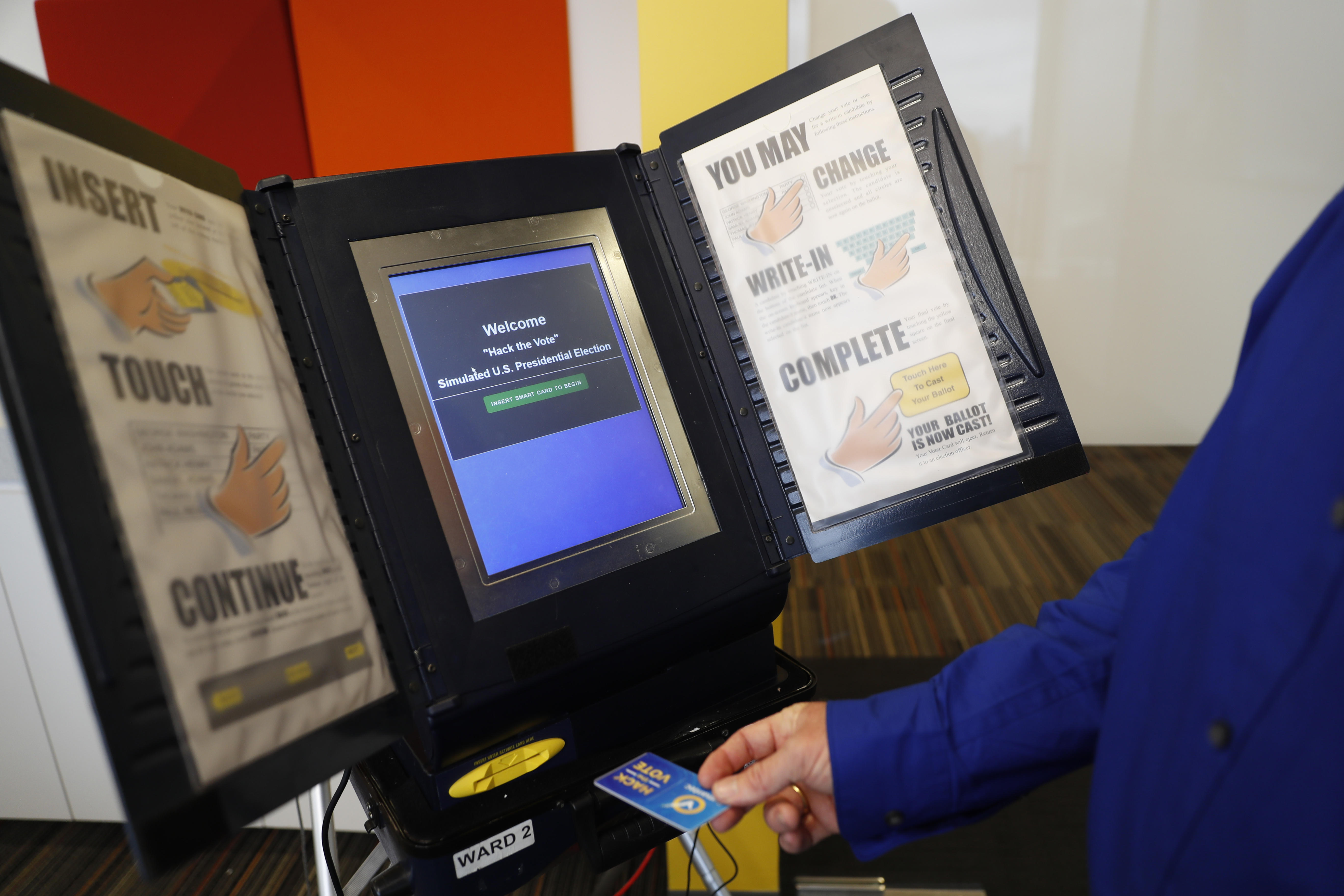 U.S. voting machines are susceptible to hacking by foreign actors