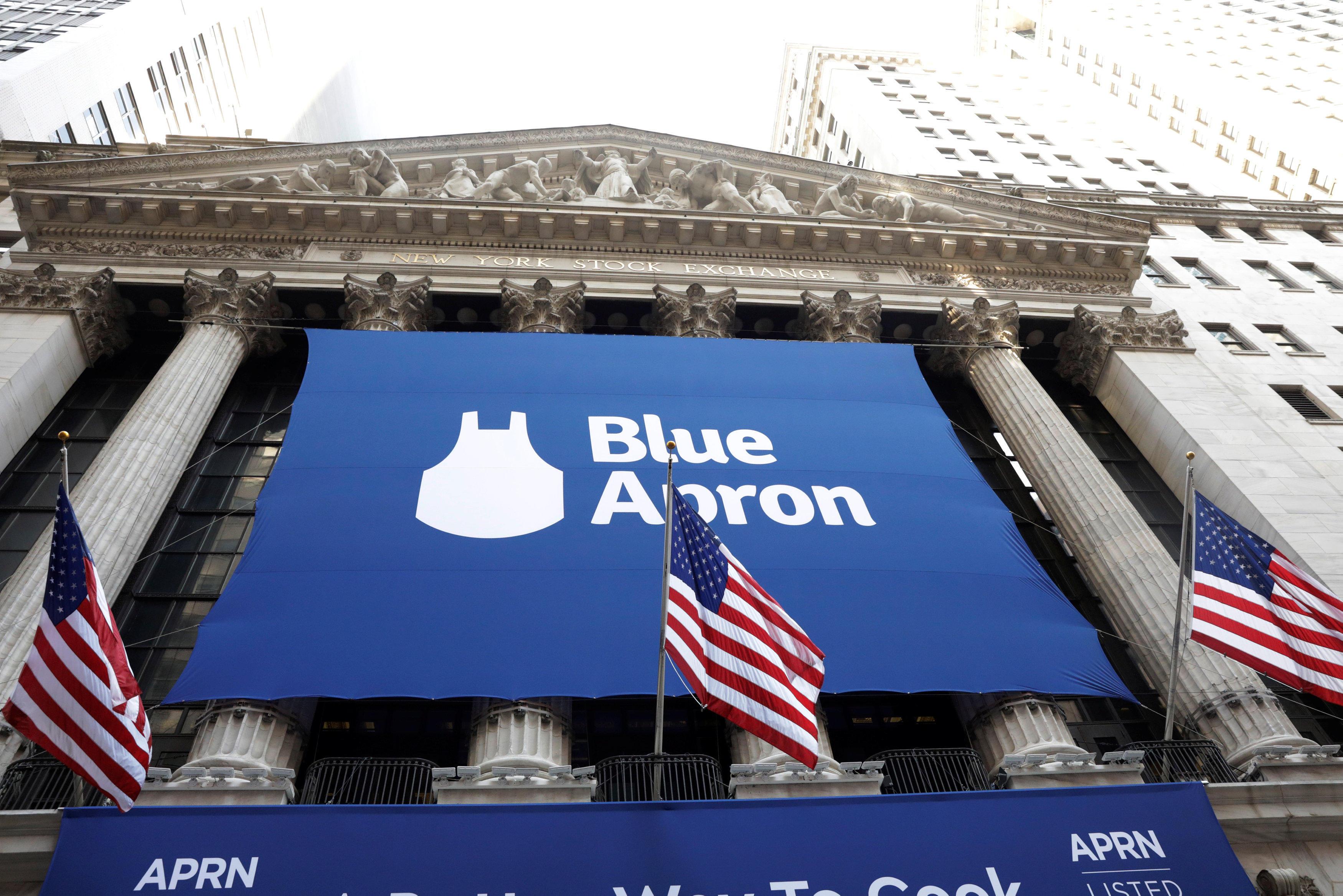 Blue apron secondary ipo