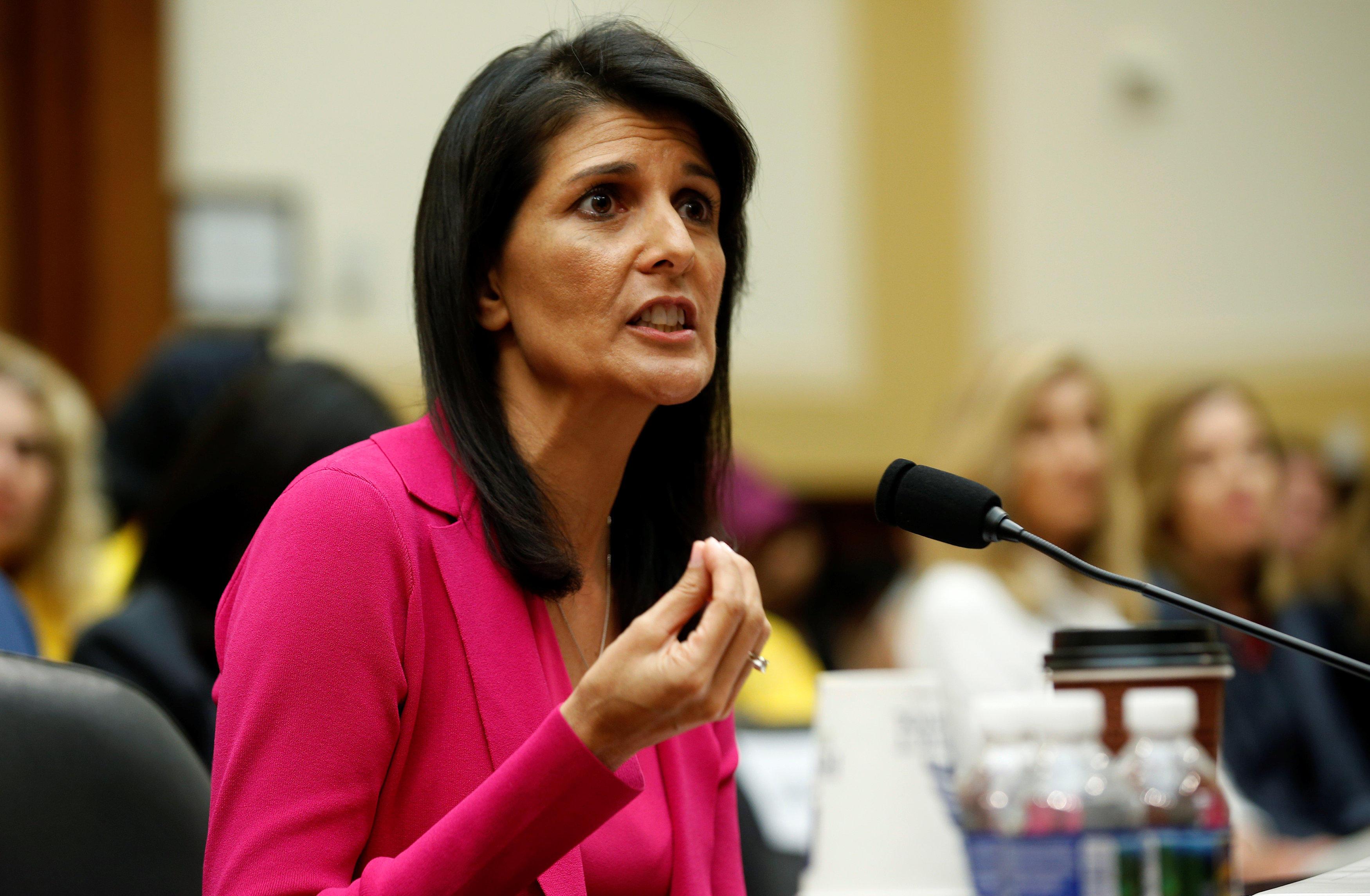 """US blasts Iran """"d..."""