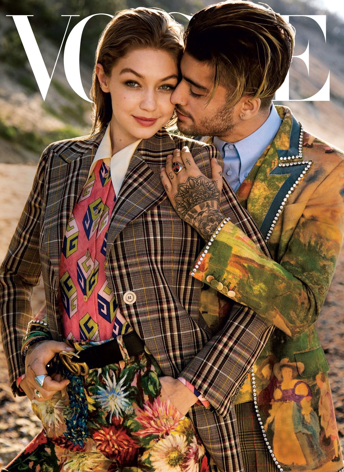 """""""Vogue"""" apologizes for """"gender fluidity"""" cover featuring Gigi Hadid and Zayn Malik - CBS News"""