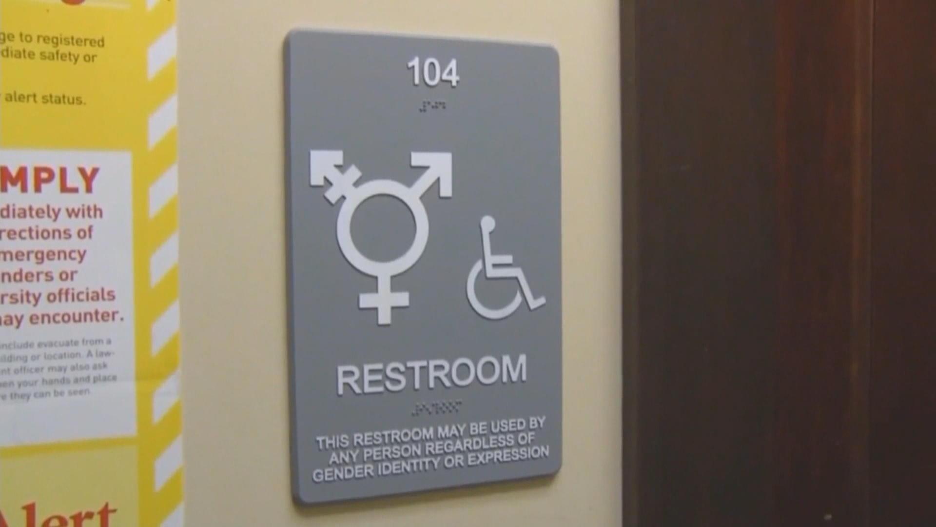Bathroom Bill in texas, it's businesses vs. the bathroom bill - cbs news
