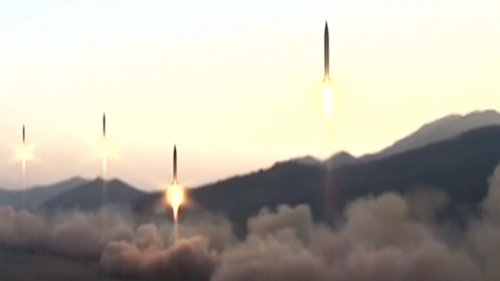 north korea missile tests a timeline cbs news