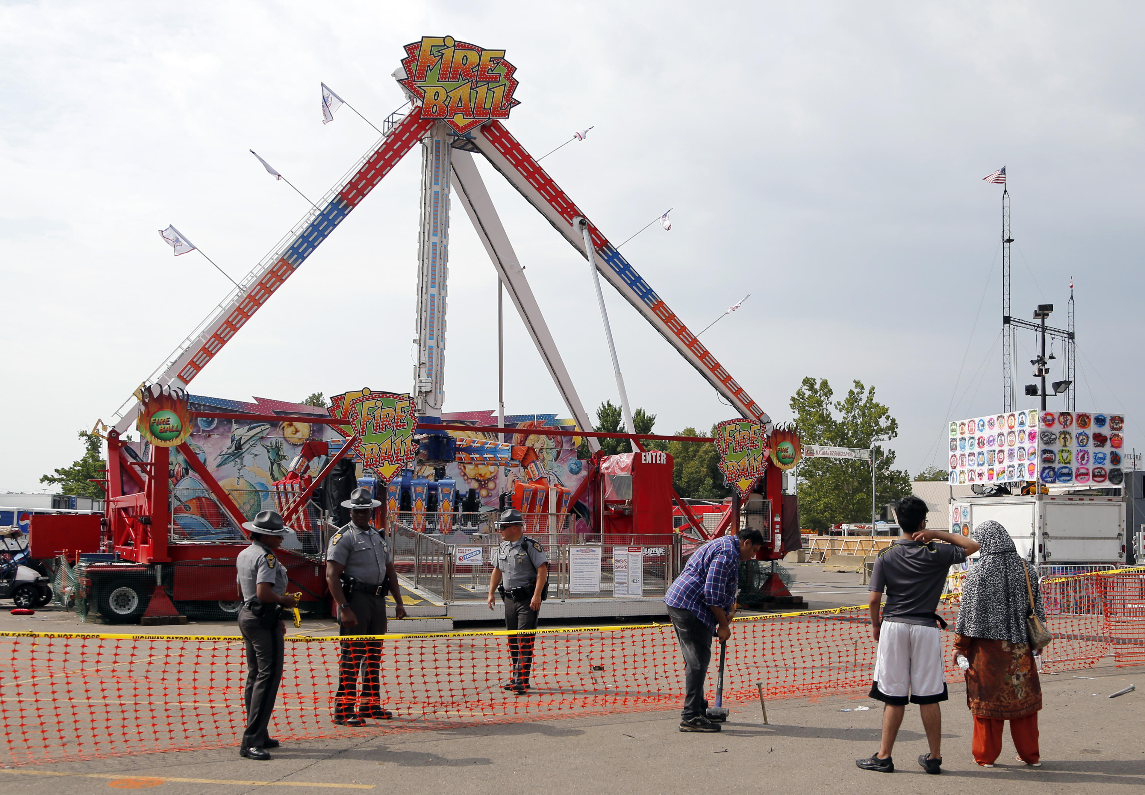 Ohio state fair ride accident cause excessive corrosion for Craft show ohio state fairgrounds