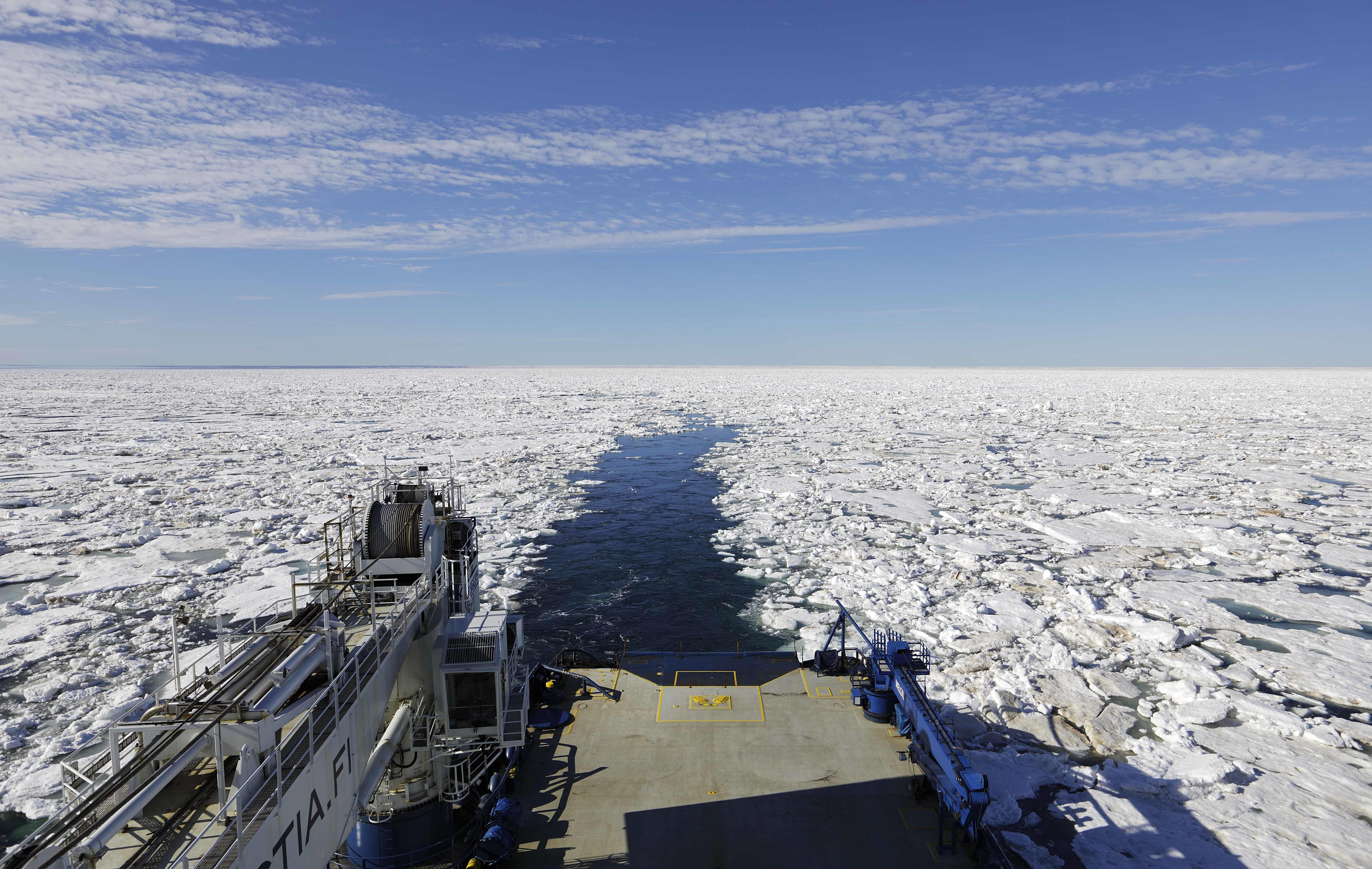 Ship sets record for earliest transit of the famed Northwest Passage