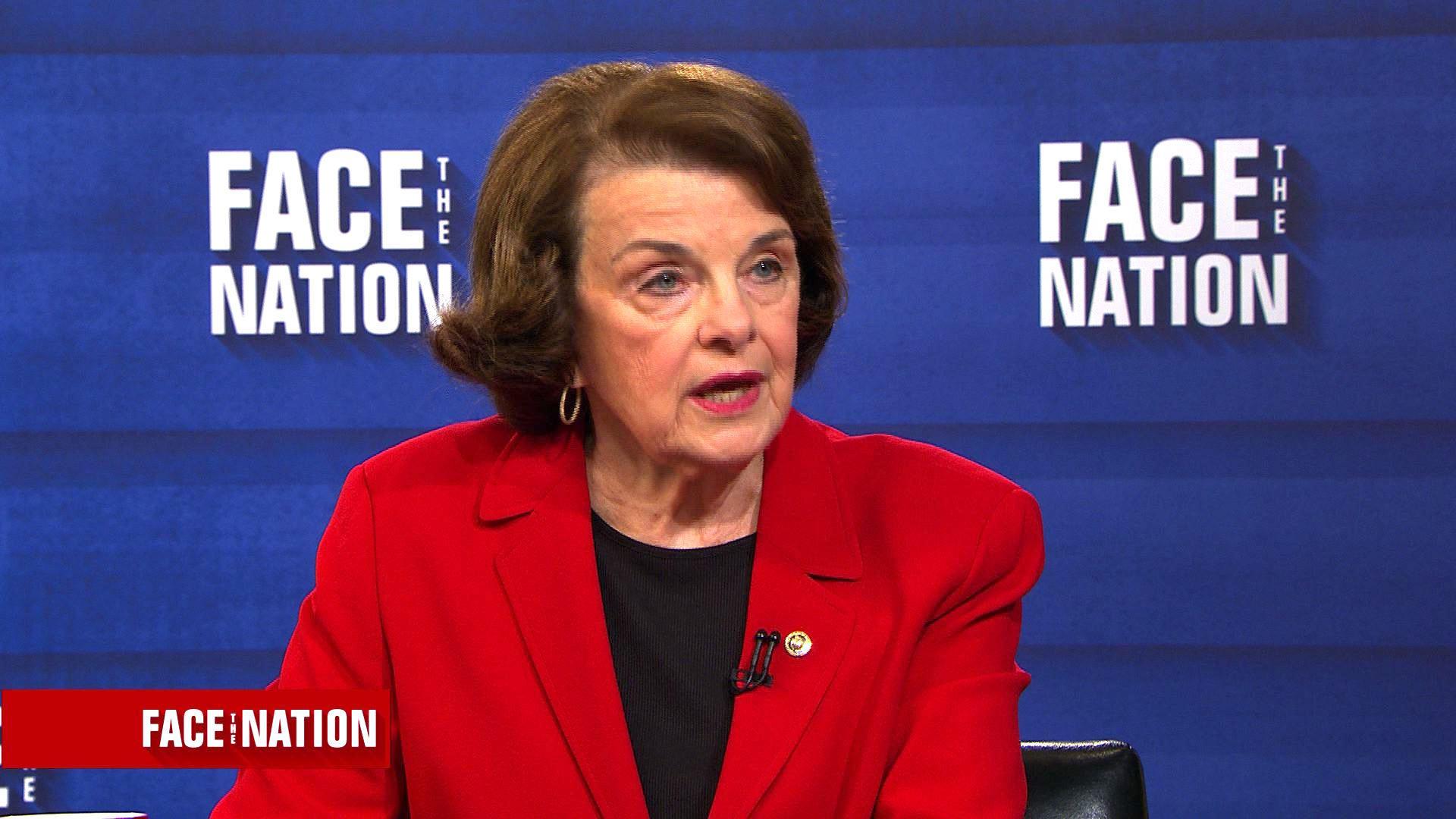 "Alabama Senate Race >> Transcript: Sen. Dianne Feinstein on ""Face the Nation,"" July 30, 2017 - CBS News"