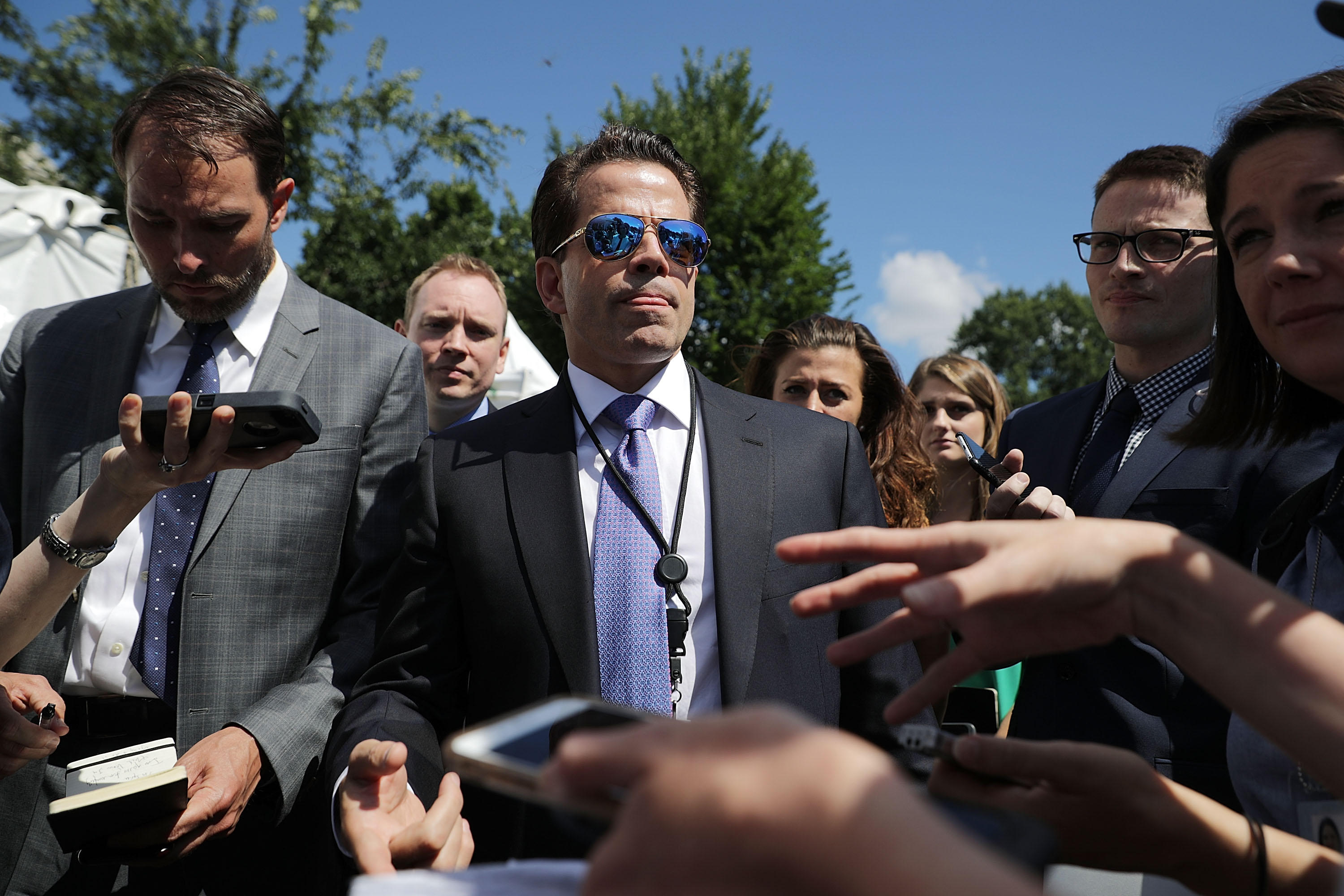 Harvard accidentally lists Scaramucci as dead in alumni ...