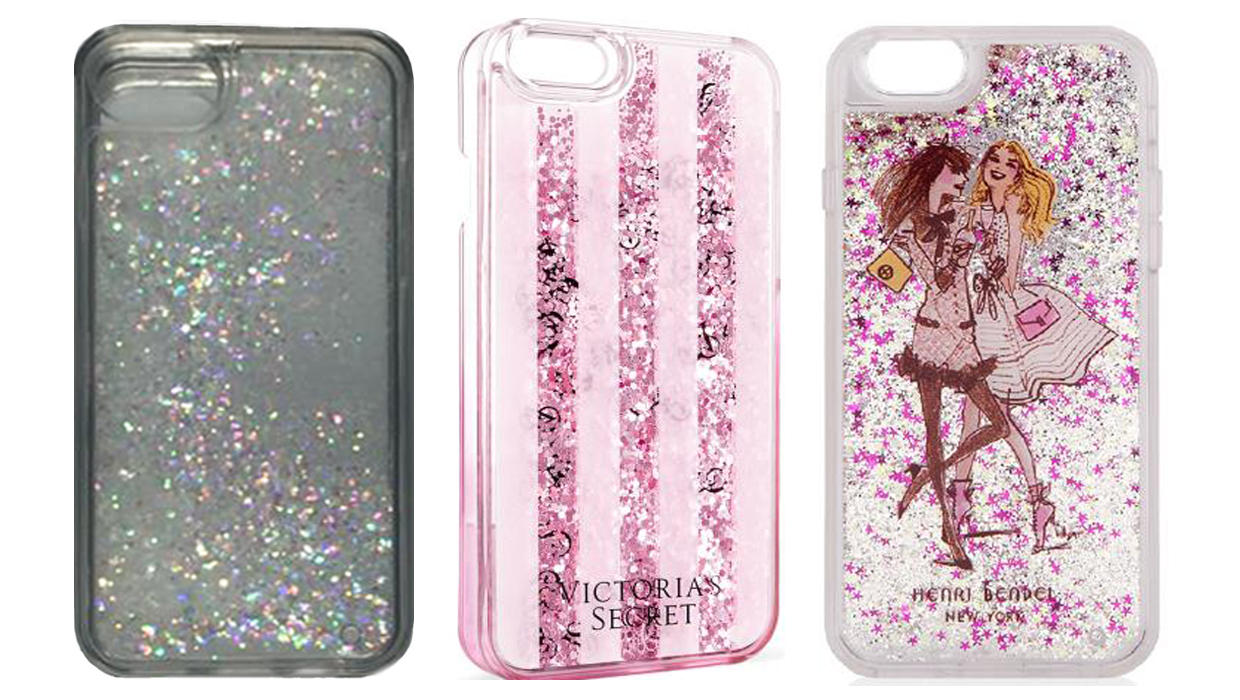 designer fashion 39710 02eac Liquid glitter iPhone cases recalled after reports of burns - CBS News