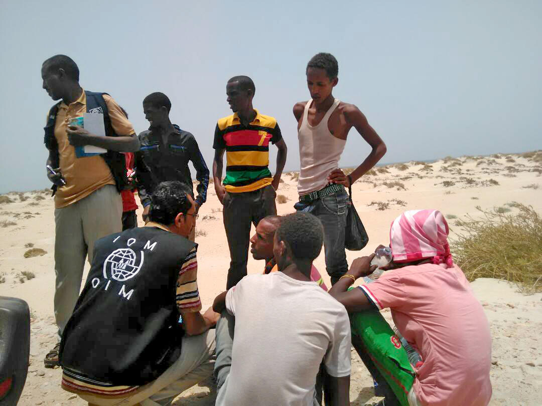 Smugglers throw 280 migrants into the sea off Yemen, U.N. says